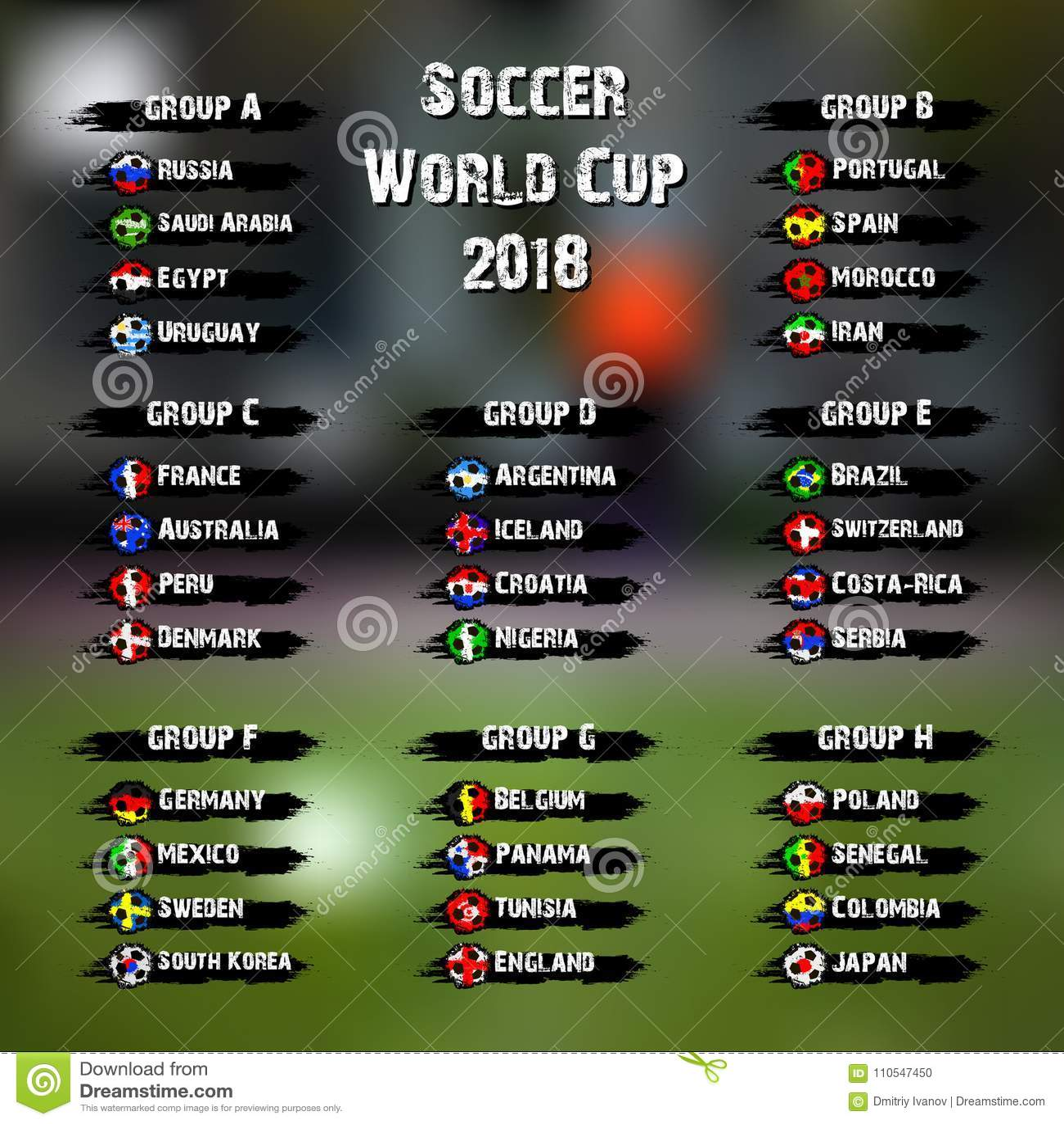 足球世界比赛2018年