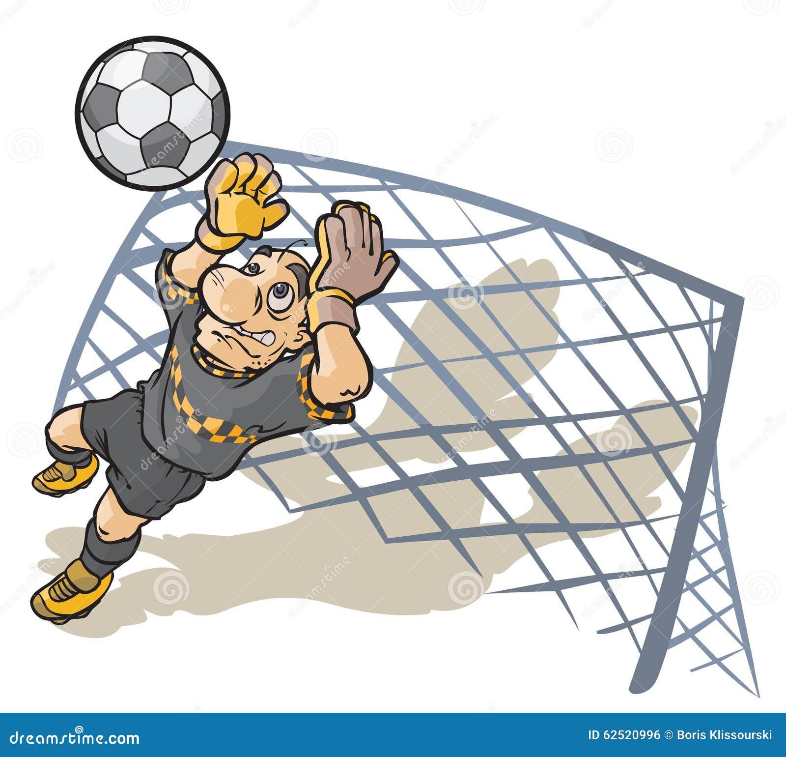 足球守门员 动画片男性角色.图片