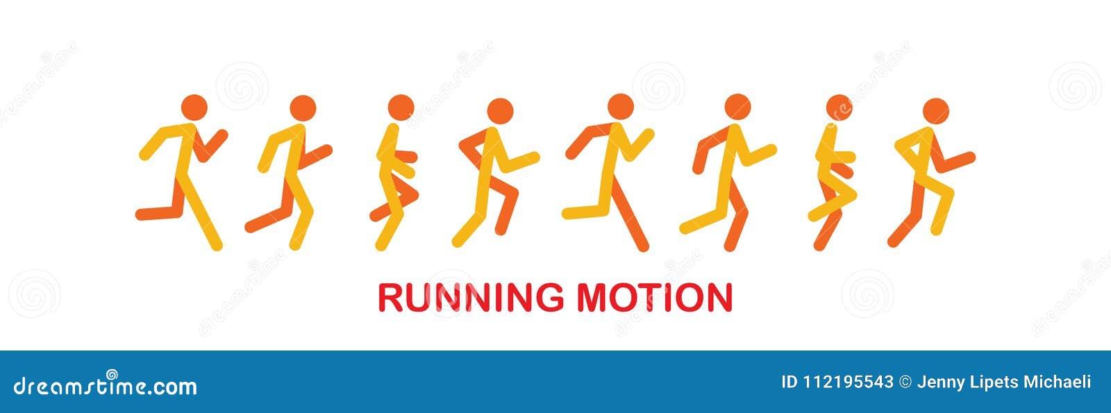 跑的和跑步的人民体育跑人剪影,...