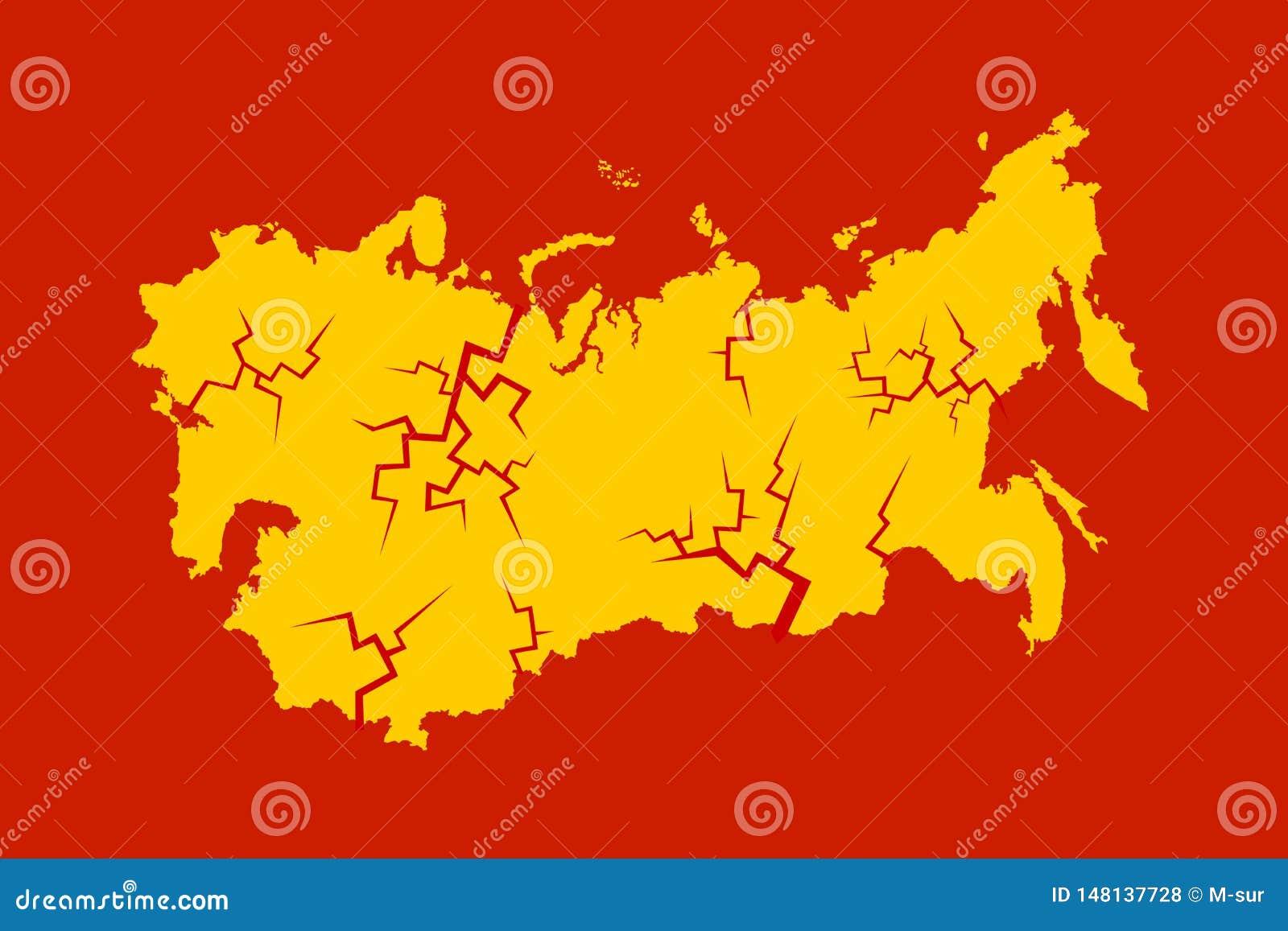 跨台、苏联的溶解和崩解
