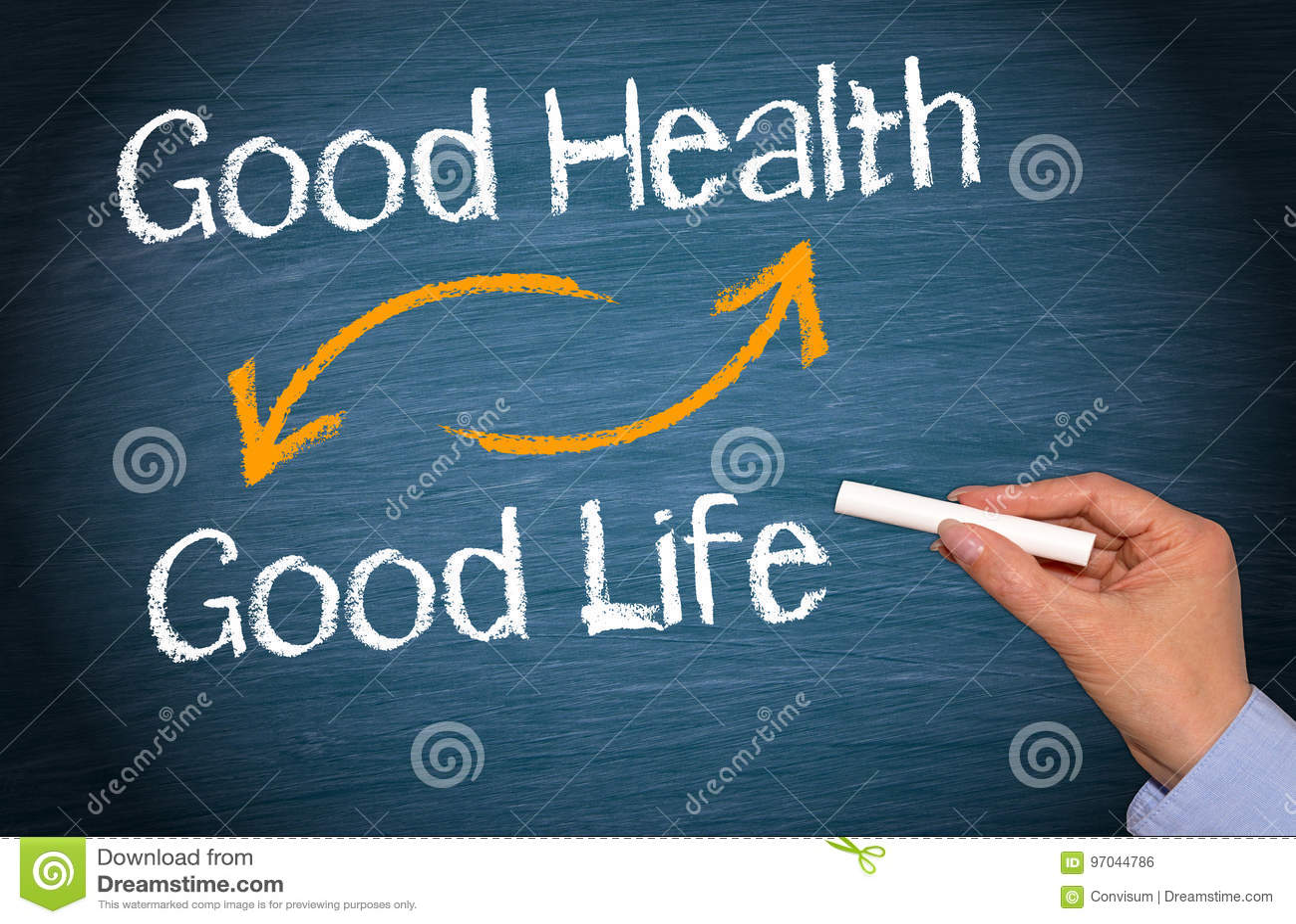 身体好和好的生活