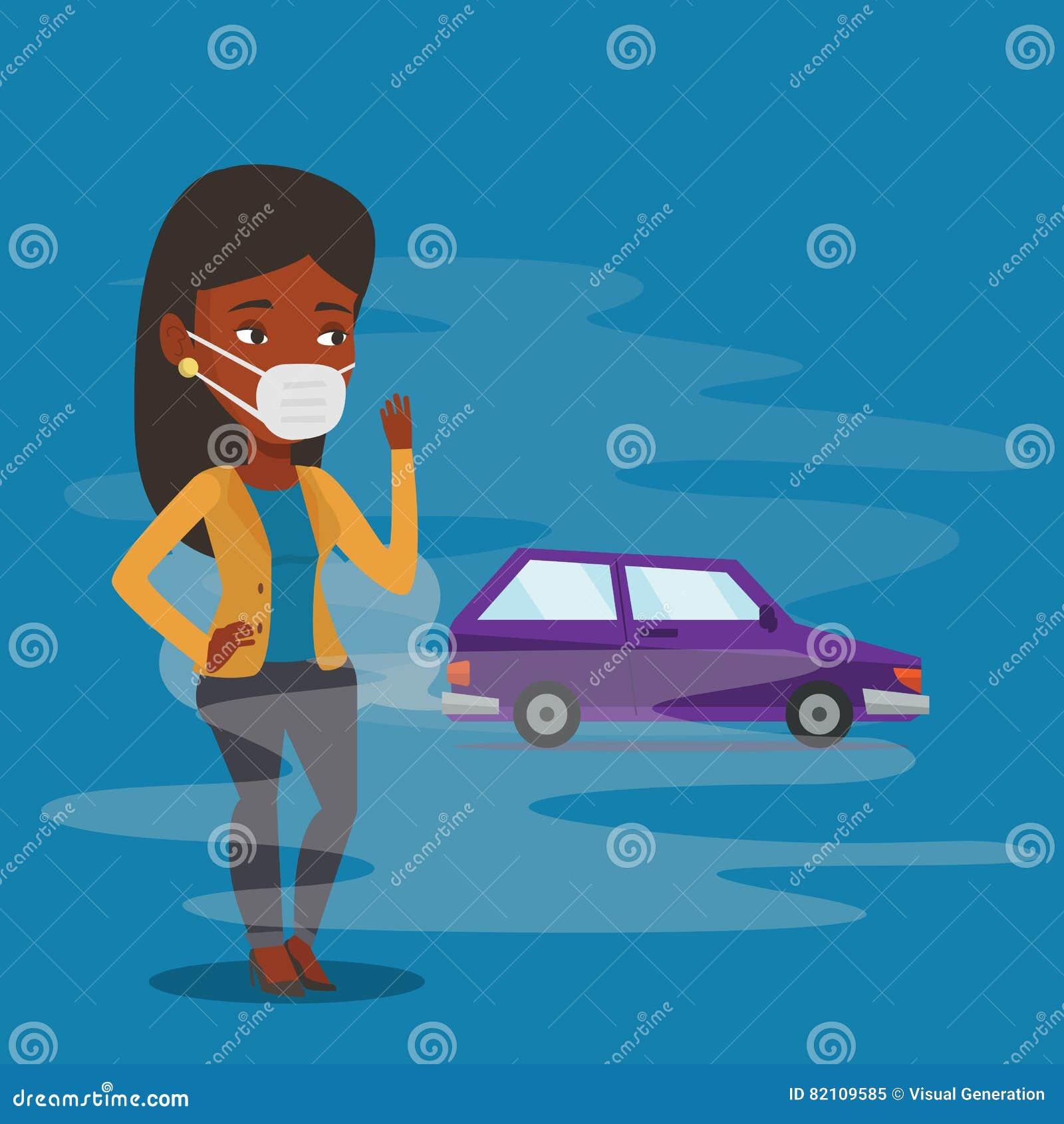 从车尾气的大气污染