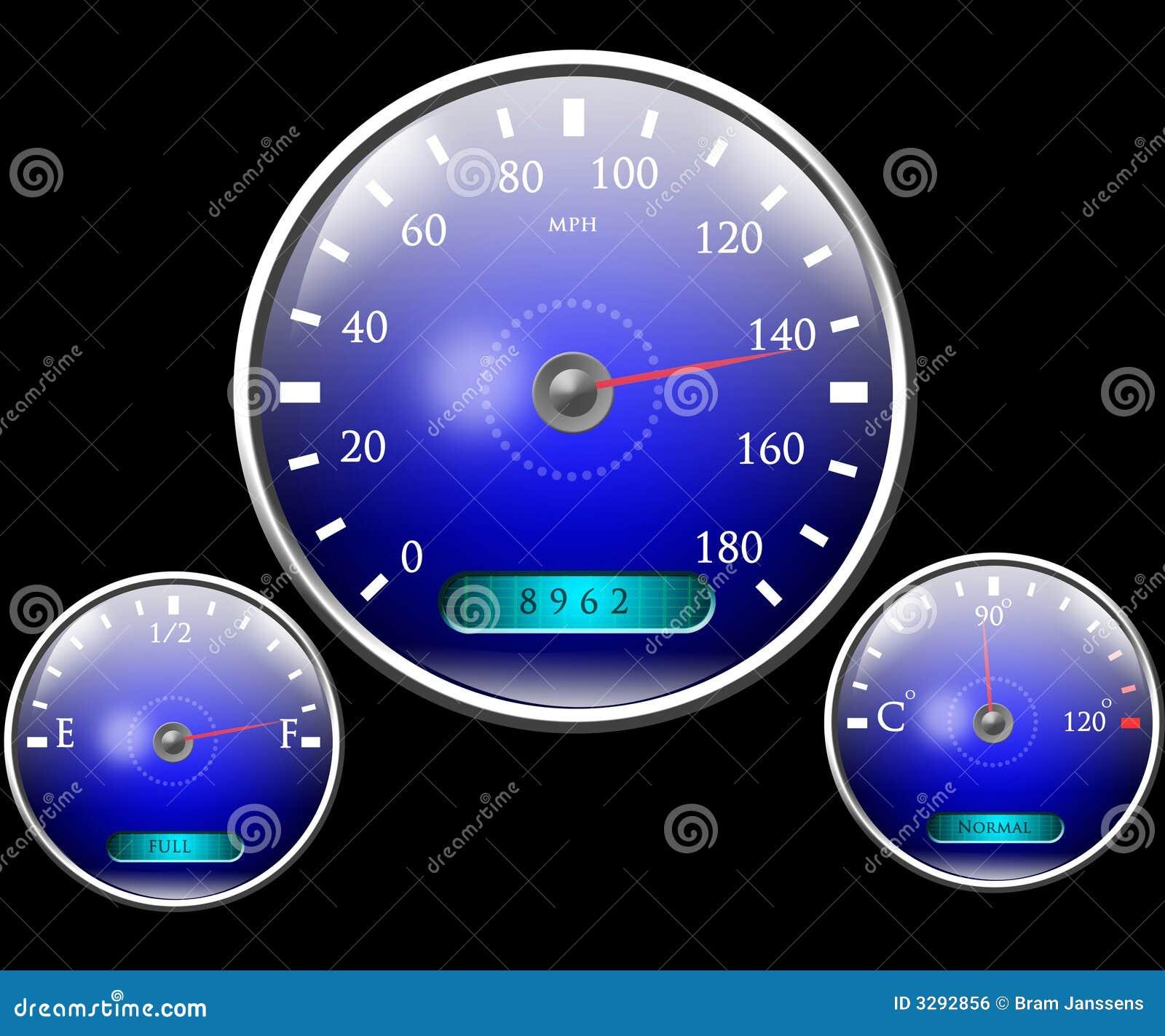 车速表和其他拨号
