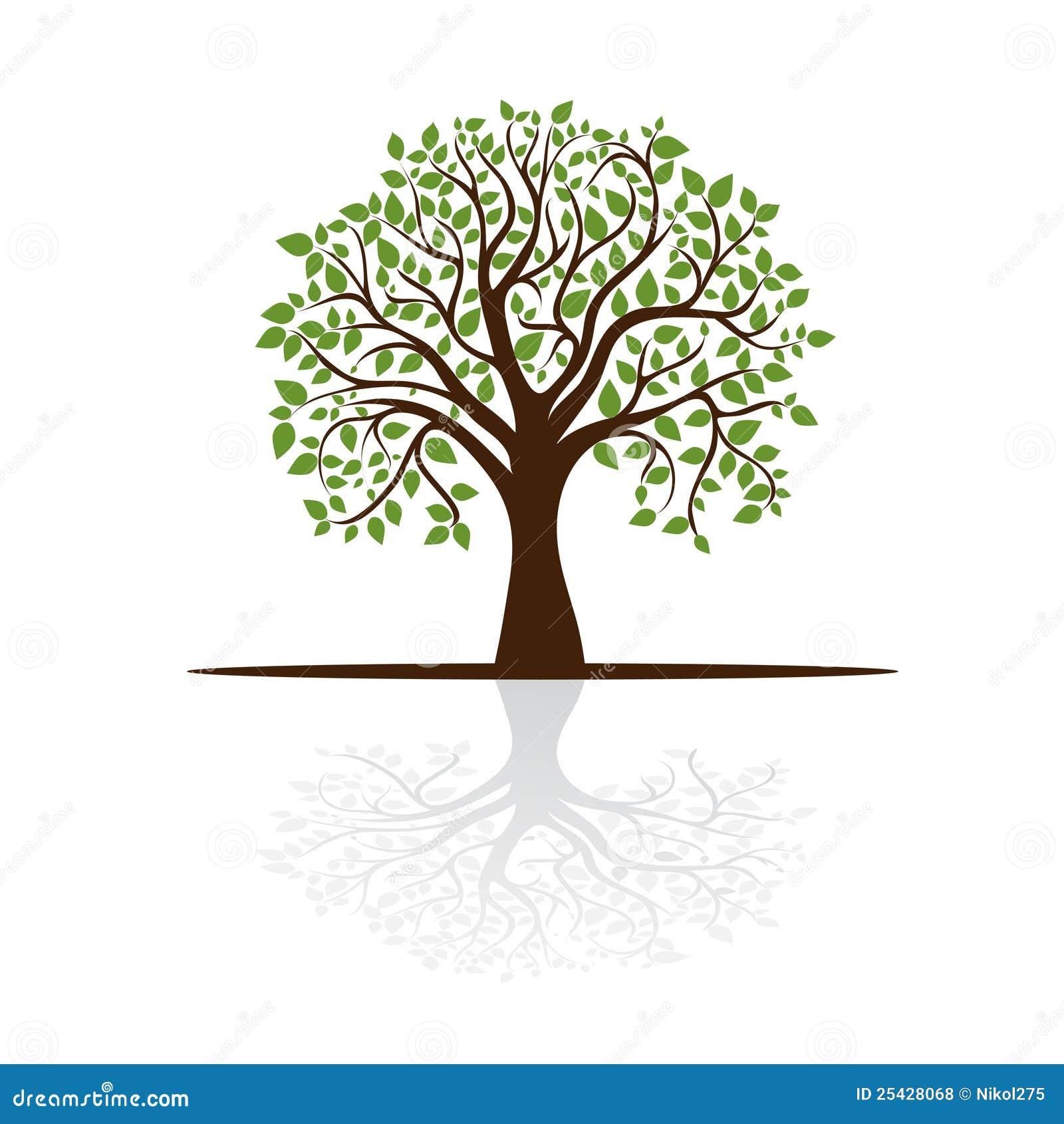 树的组成部分吗图片