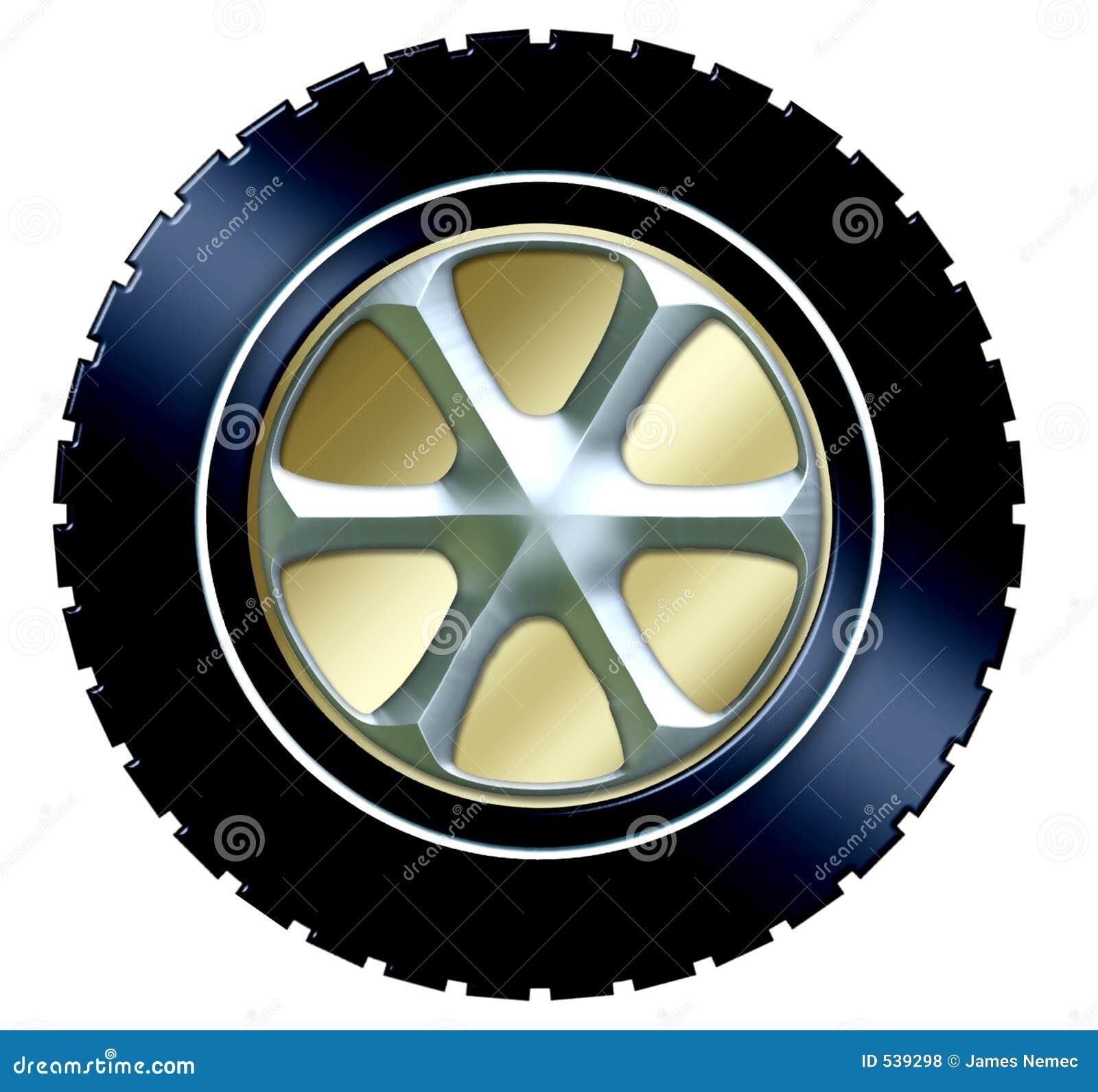 Download 轮毂罩轮胎w 库存例证. 插画 包括有 光盘, 橡胶, automatics, 轮胎, 乳汁, 通信工具, 卡车 - 539298