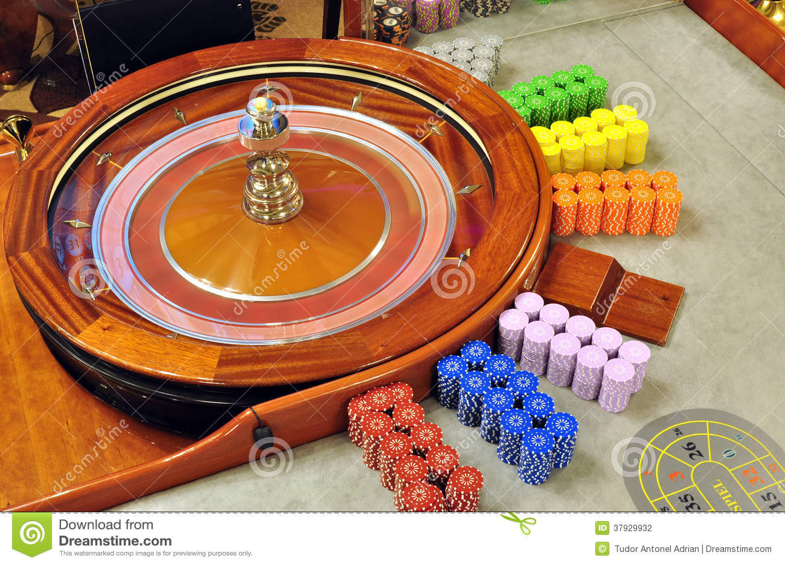 轮盘赌的赌轮