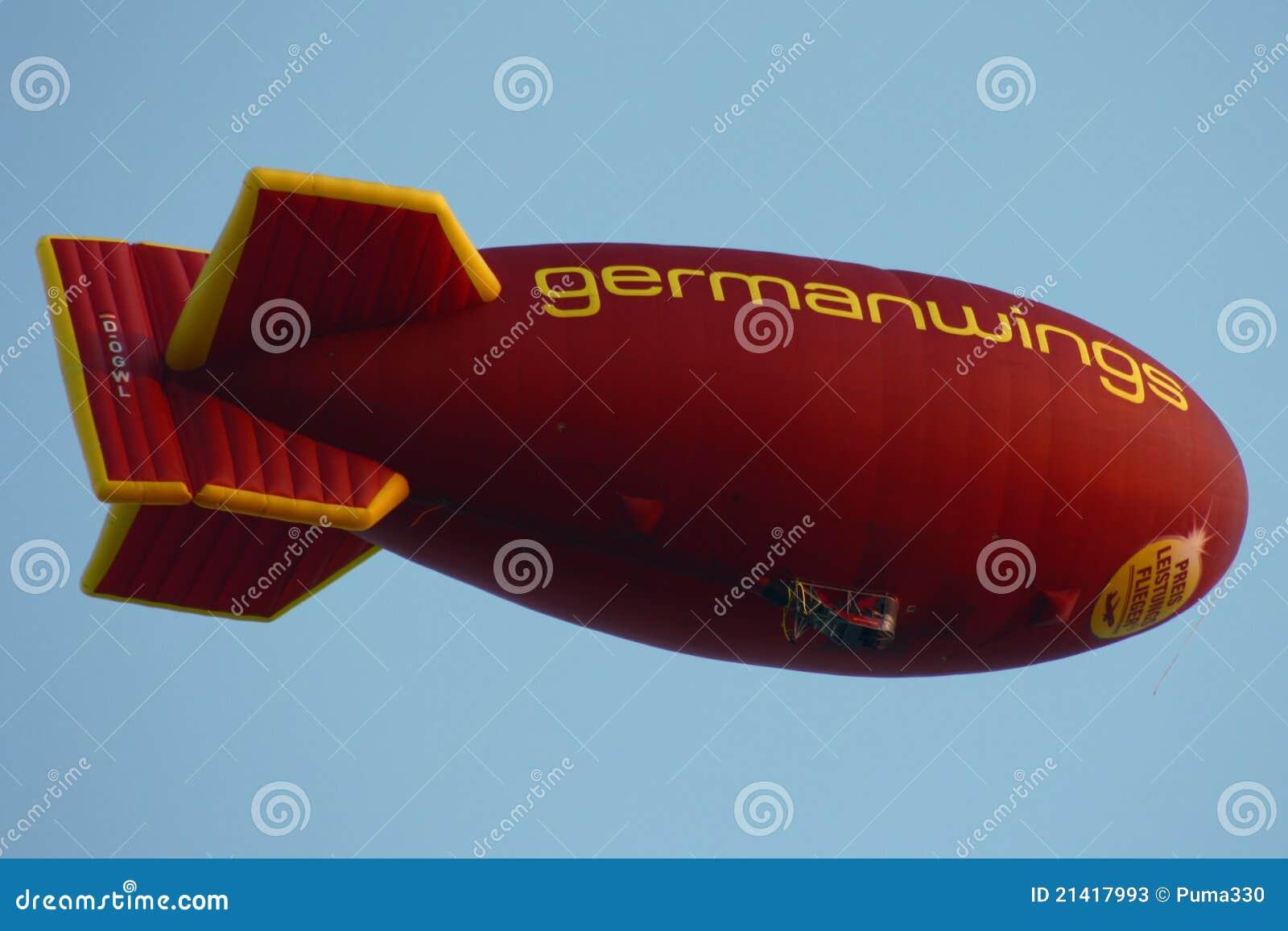 软式小型飞艇germanwings