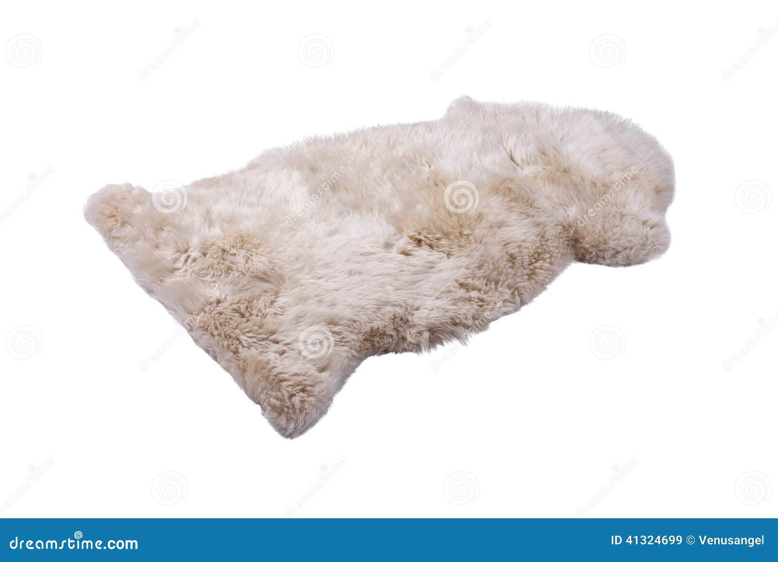 软的毛皮地毯