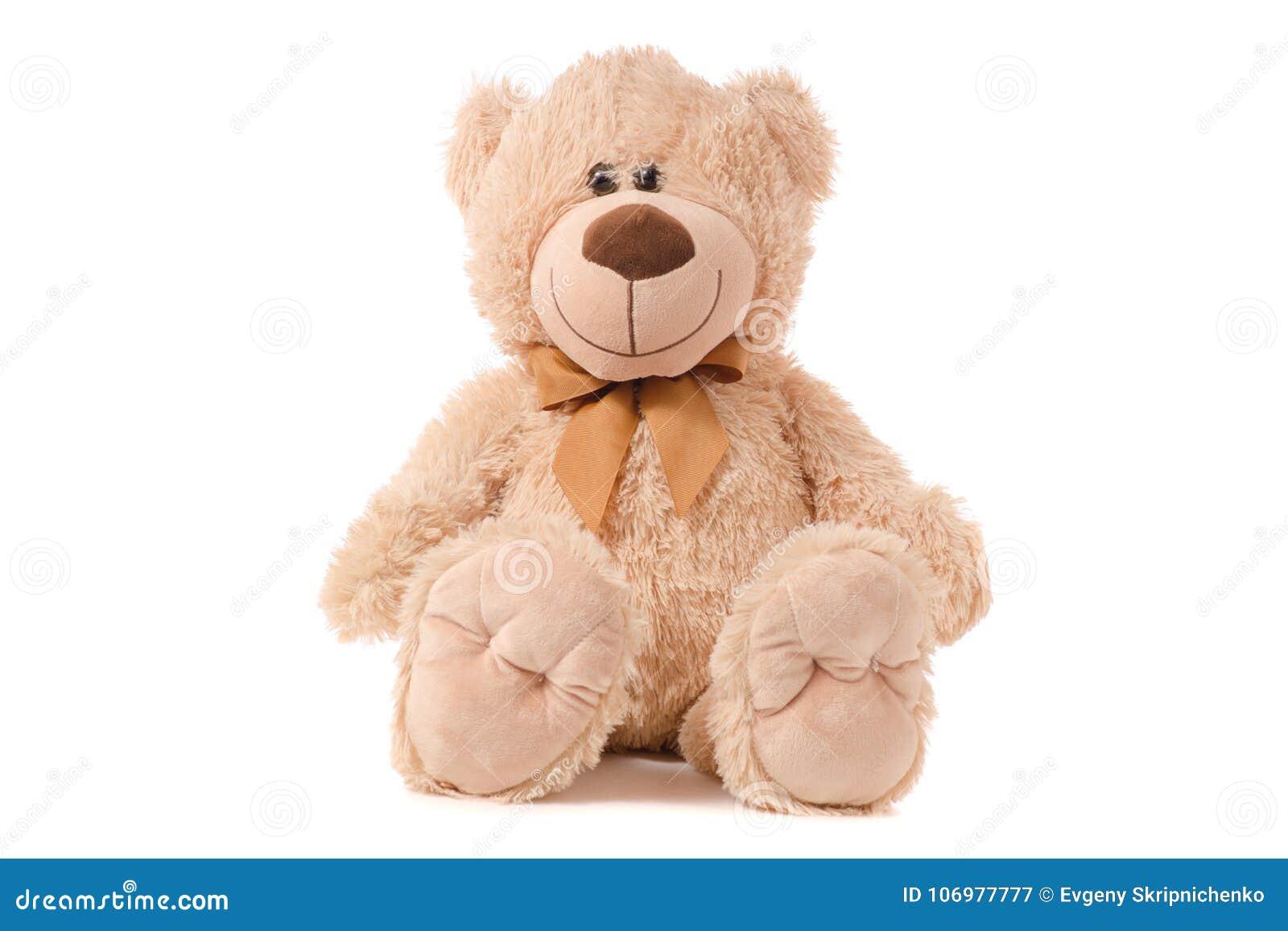 软的玩具米黄熊