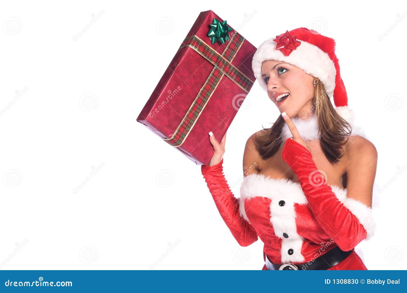 辅助工s性感的圣诞老人
