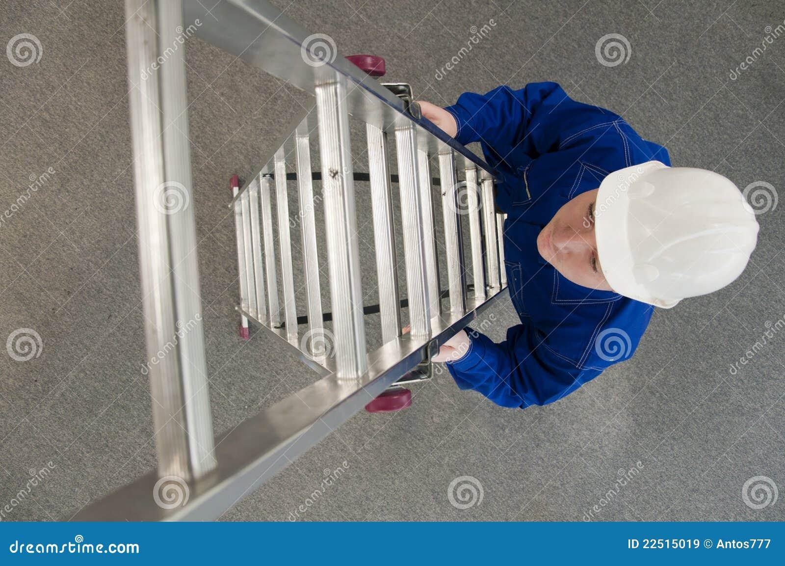 输入梯子工作者