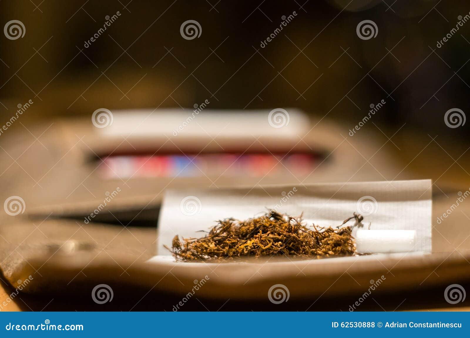 辗压烟草香烟