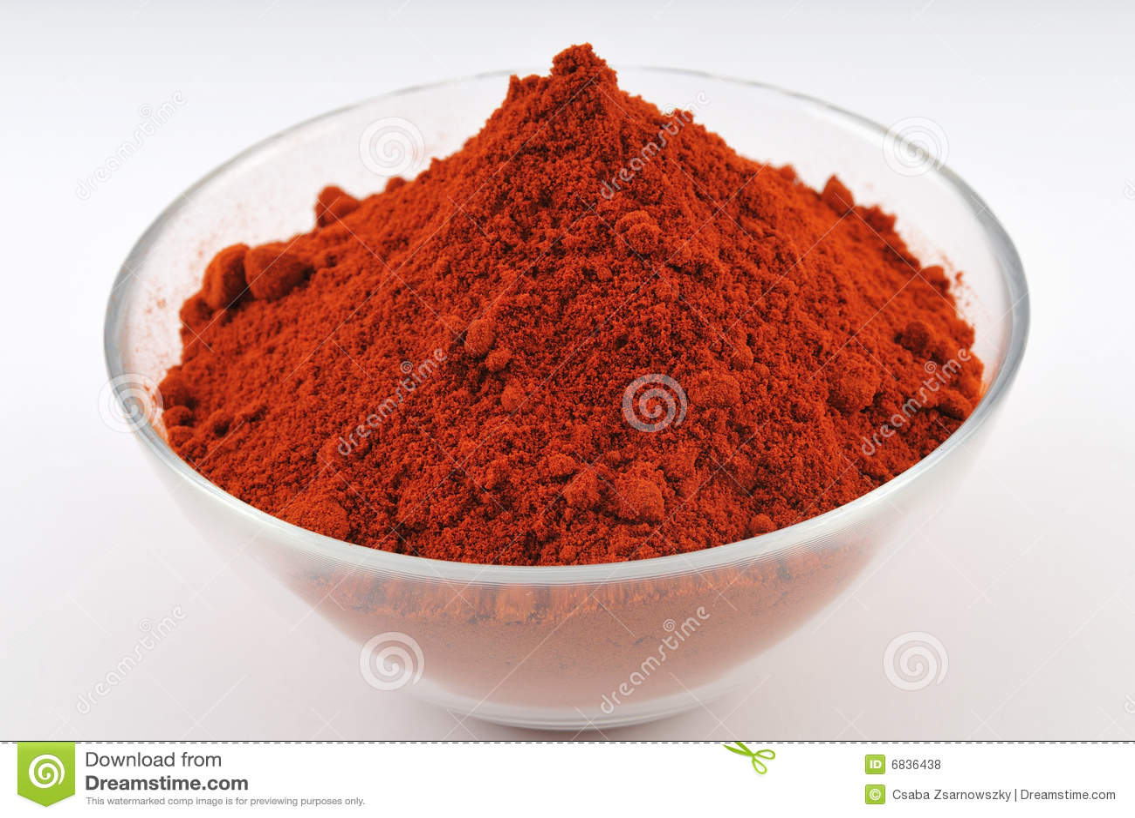 辣椒粉粉末红色