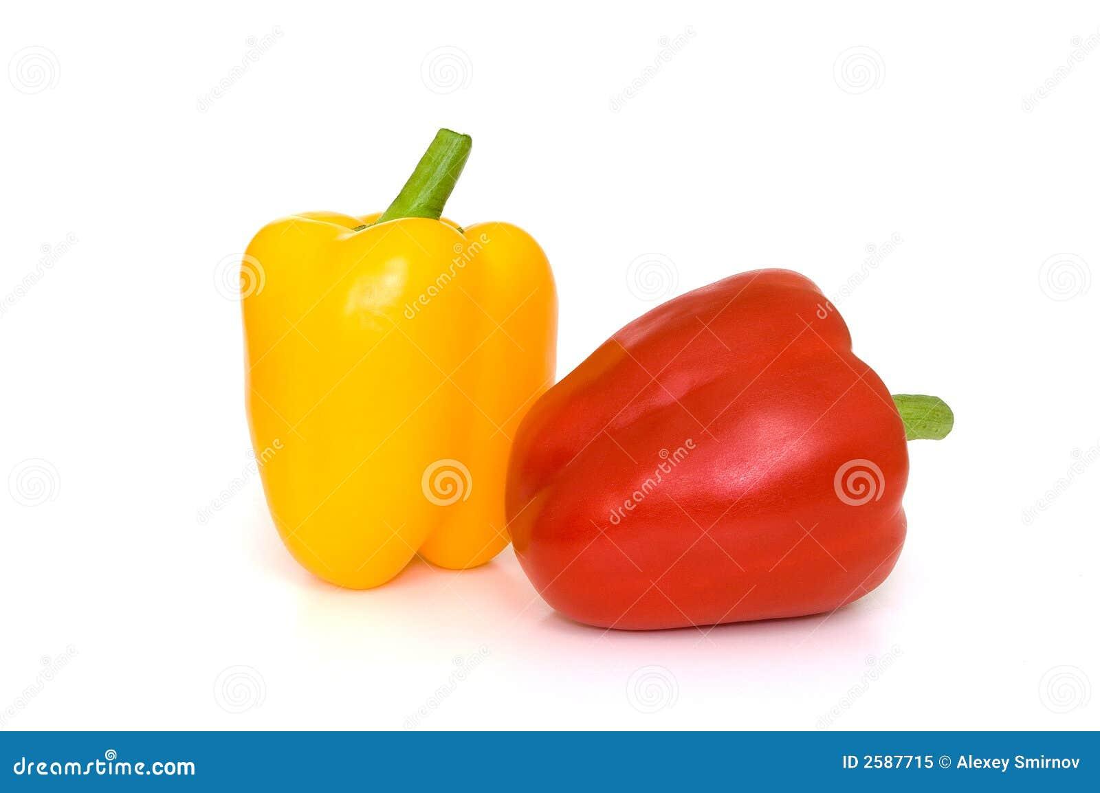 辣椒粉红色黄色