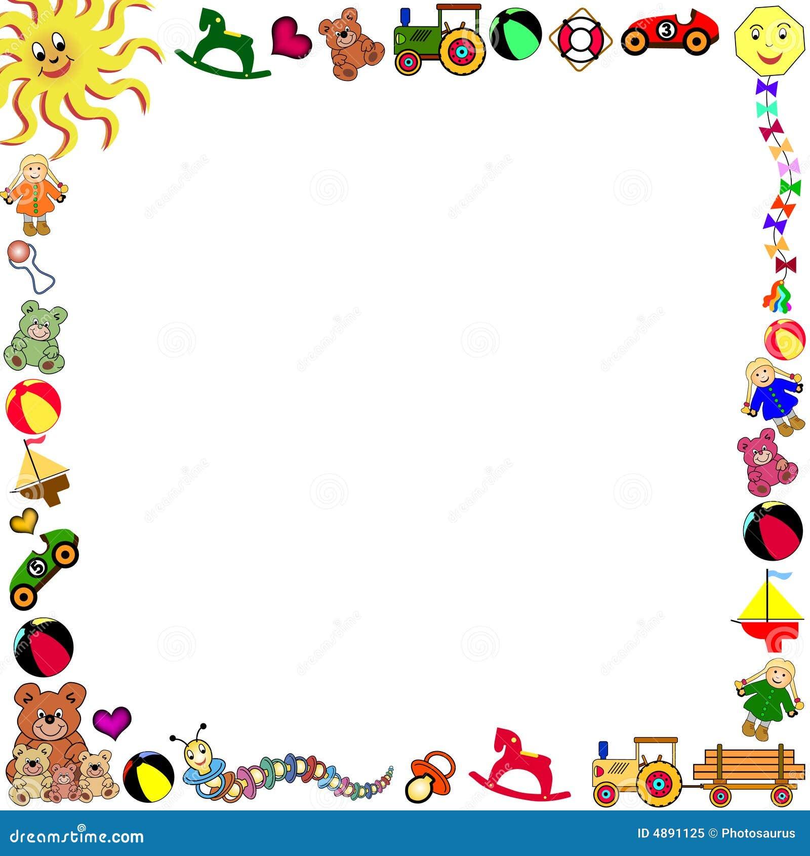 边界方形玩具 向量例证 插画 包括有 马戏 靠山 狂欢节 蓝色 装饰 财务资助 设计 登广告者做广告