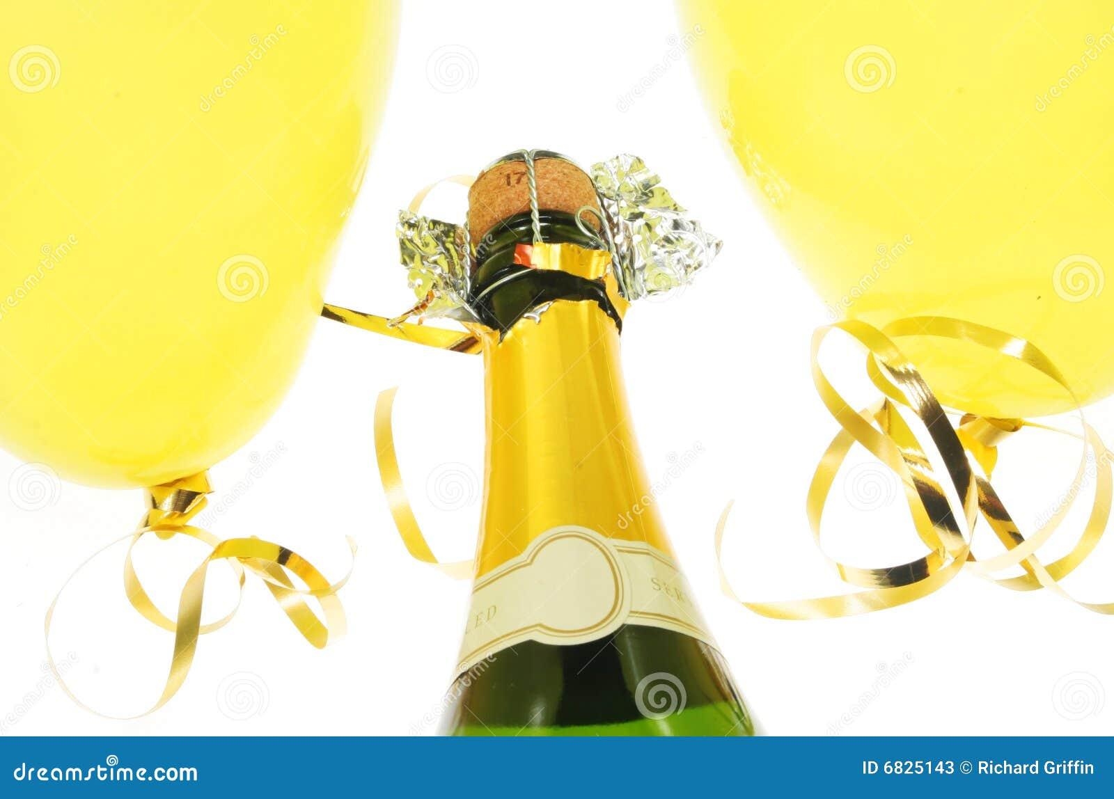 迅速增加香槟