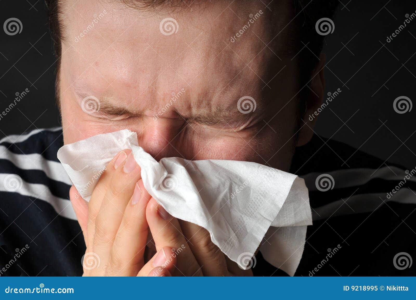 过敏寒冷流感