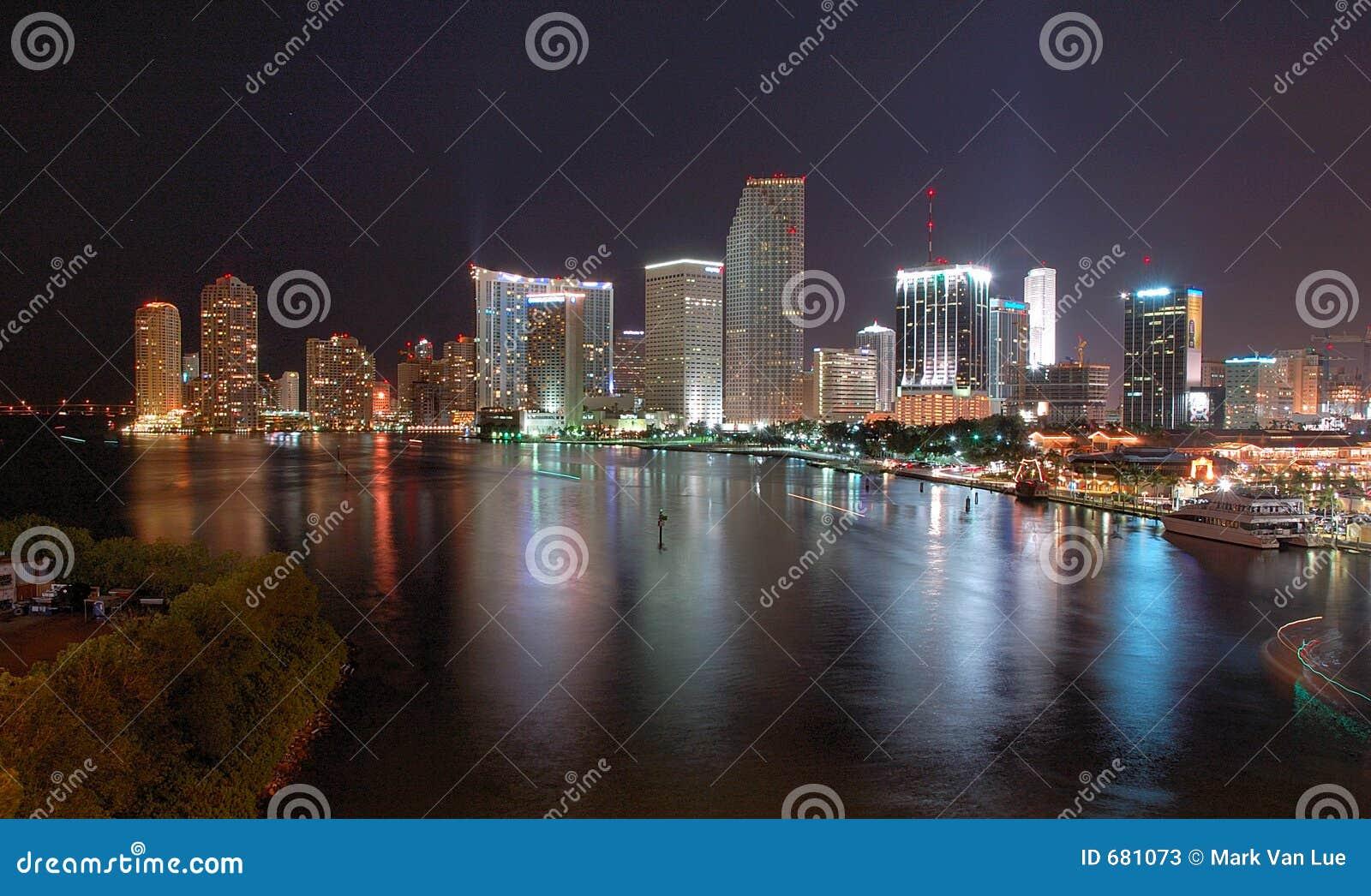 迈阿密晚上