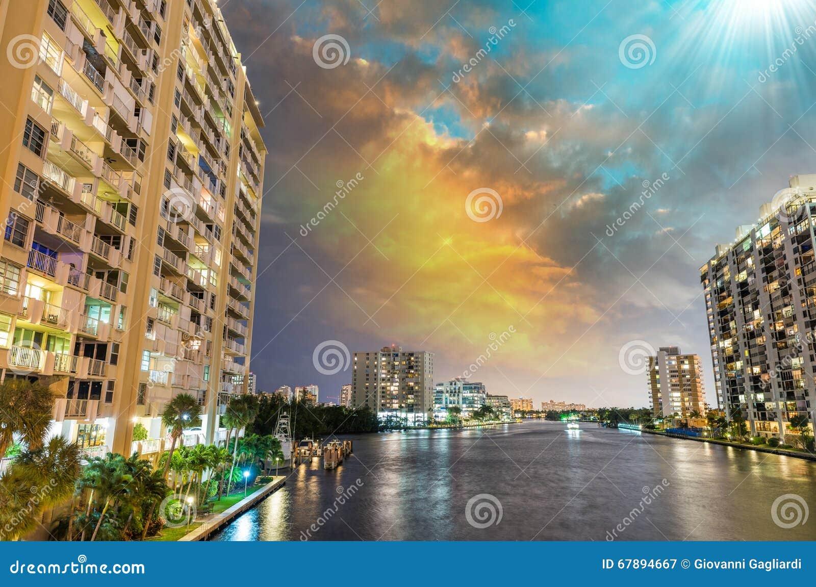迈阿密,佛罗里达惊人的地平线