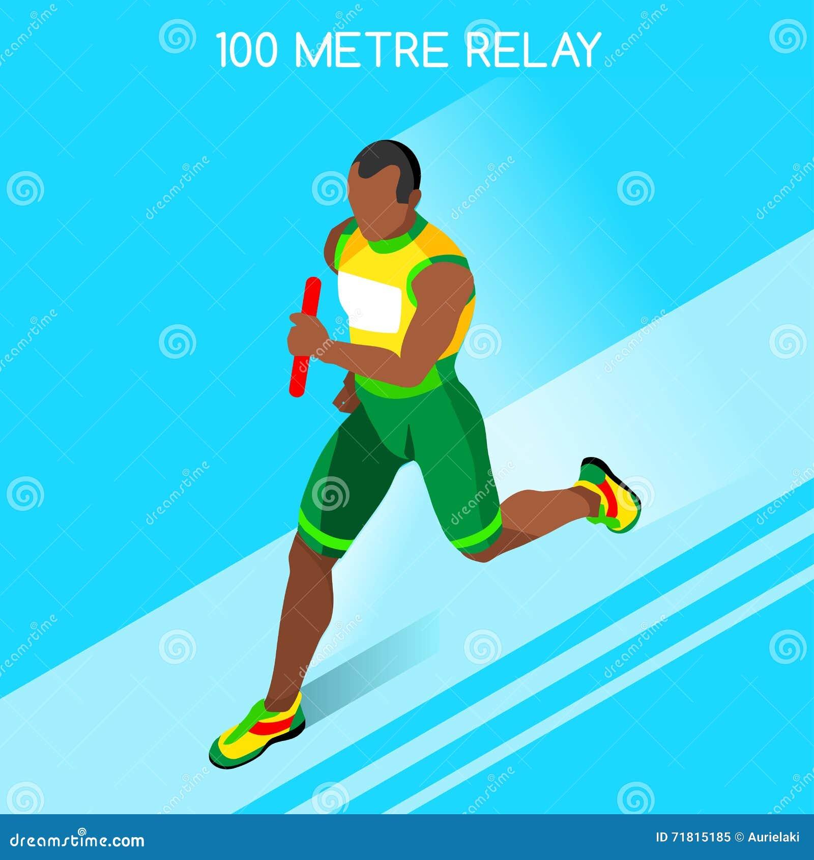 运动夏天比赛象集合连续人中转  概念乡下空的老透视图路速度舒展