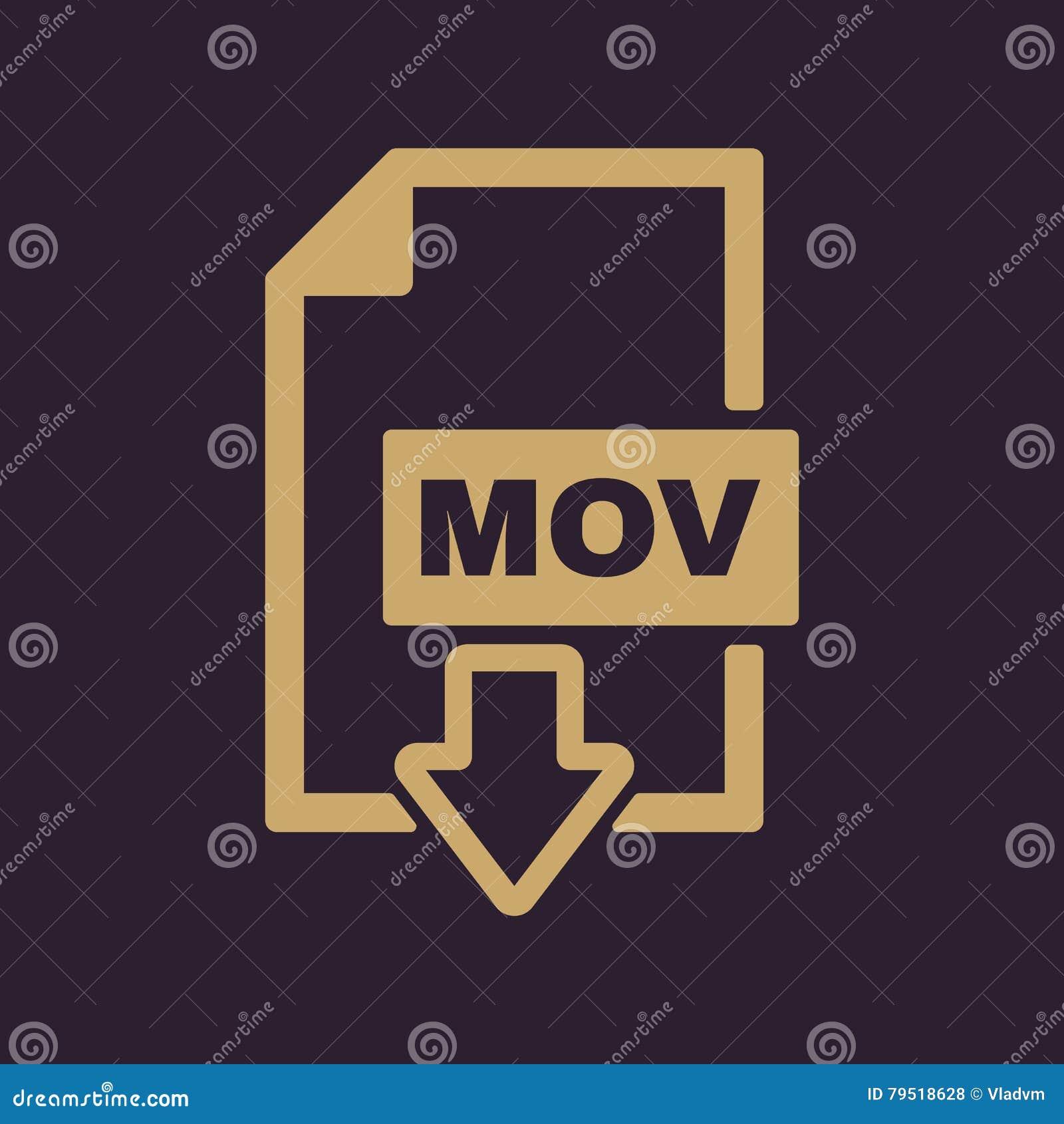 运动象 视频文件格式标志 平面
