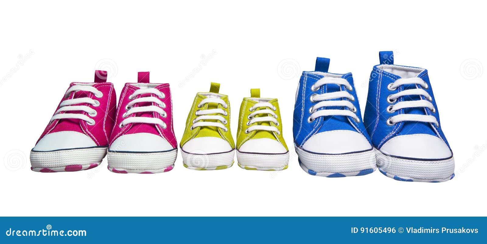 运动鞋侦探,婴孩颜色体育鞋子,儿童时尚脚