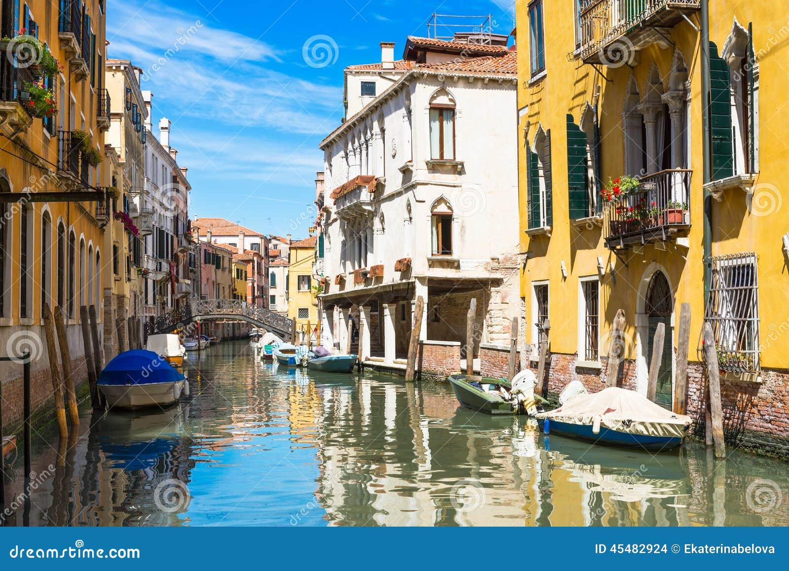 运河在威尼斯,意大利