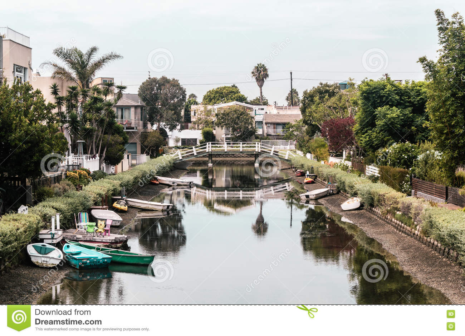 运河在威尼斯,洛杉矶,加利福尼亚