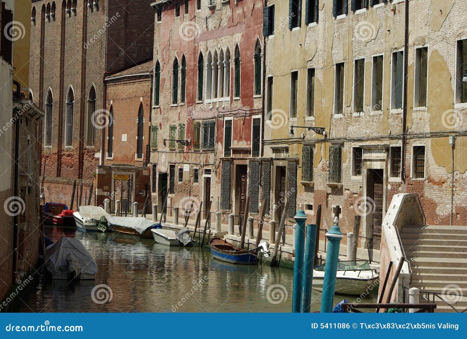 运河威尼斯