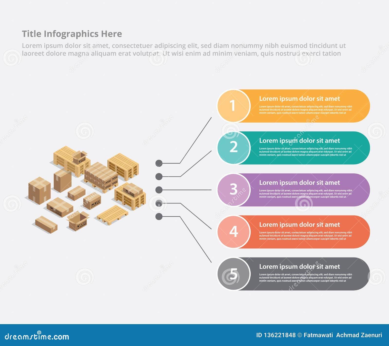 运输信息统计的-传染媒介的纸板infographic企业数据模板横幅