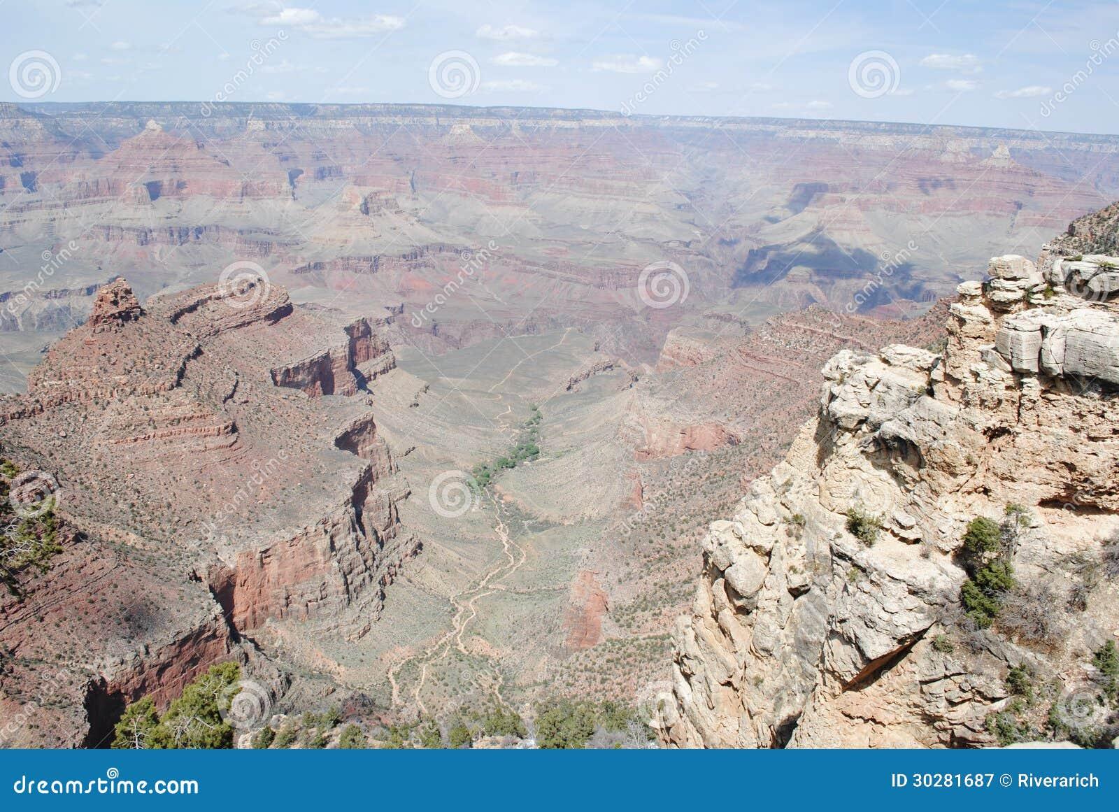 大峡谷在春天