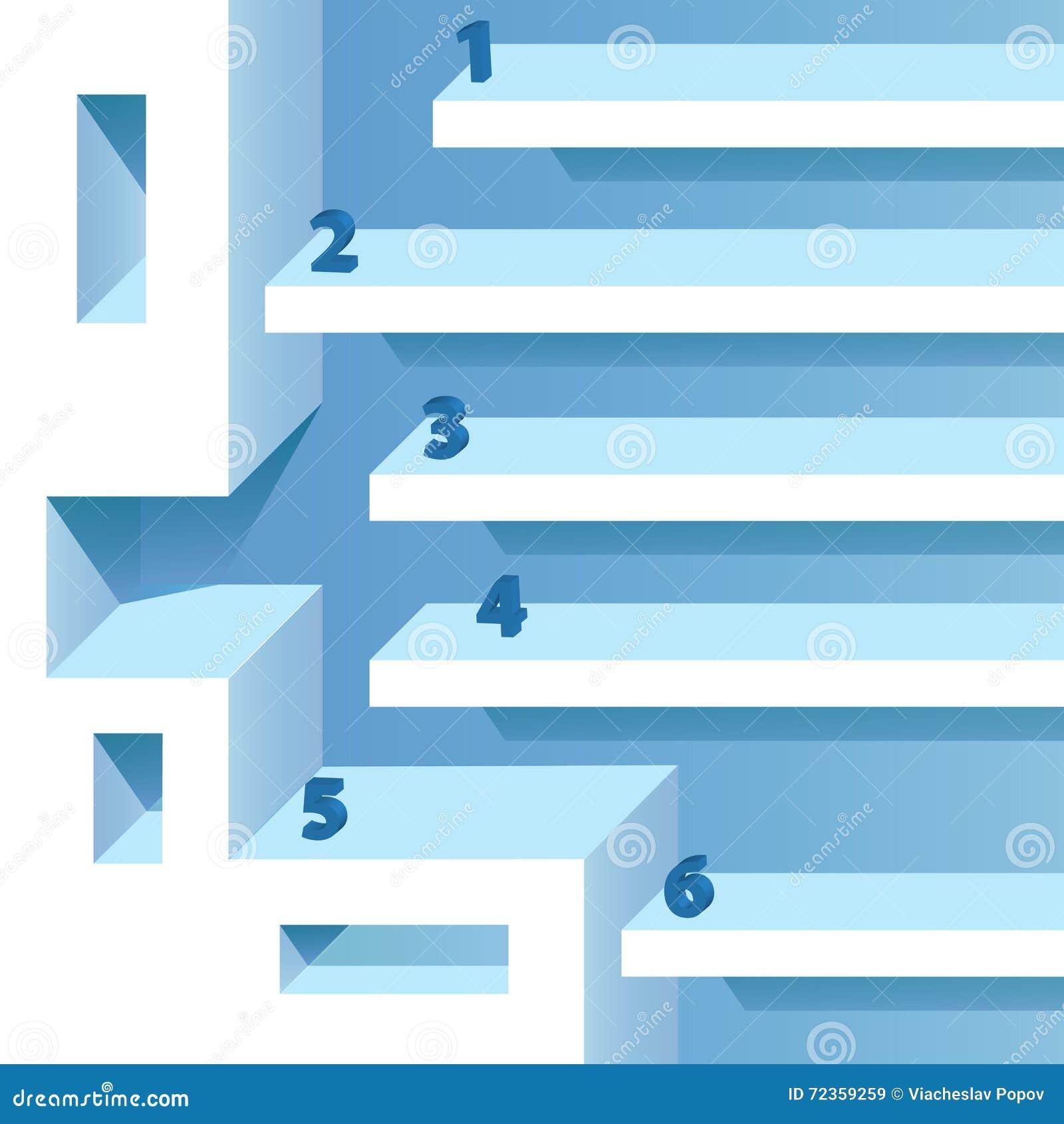 进展选择工作流横幅-平的设计