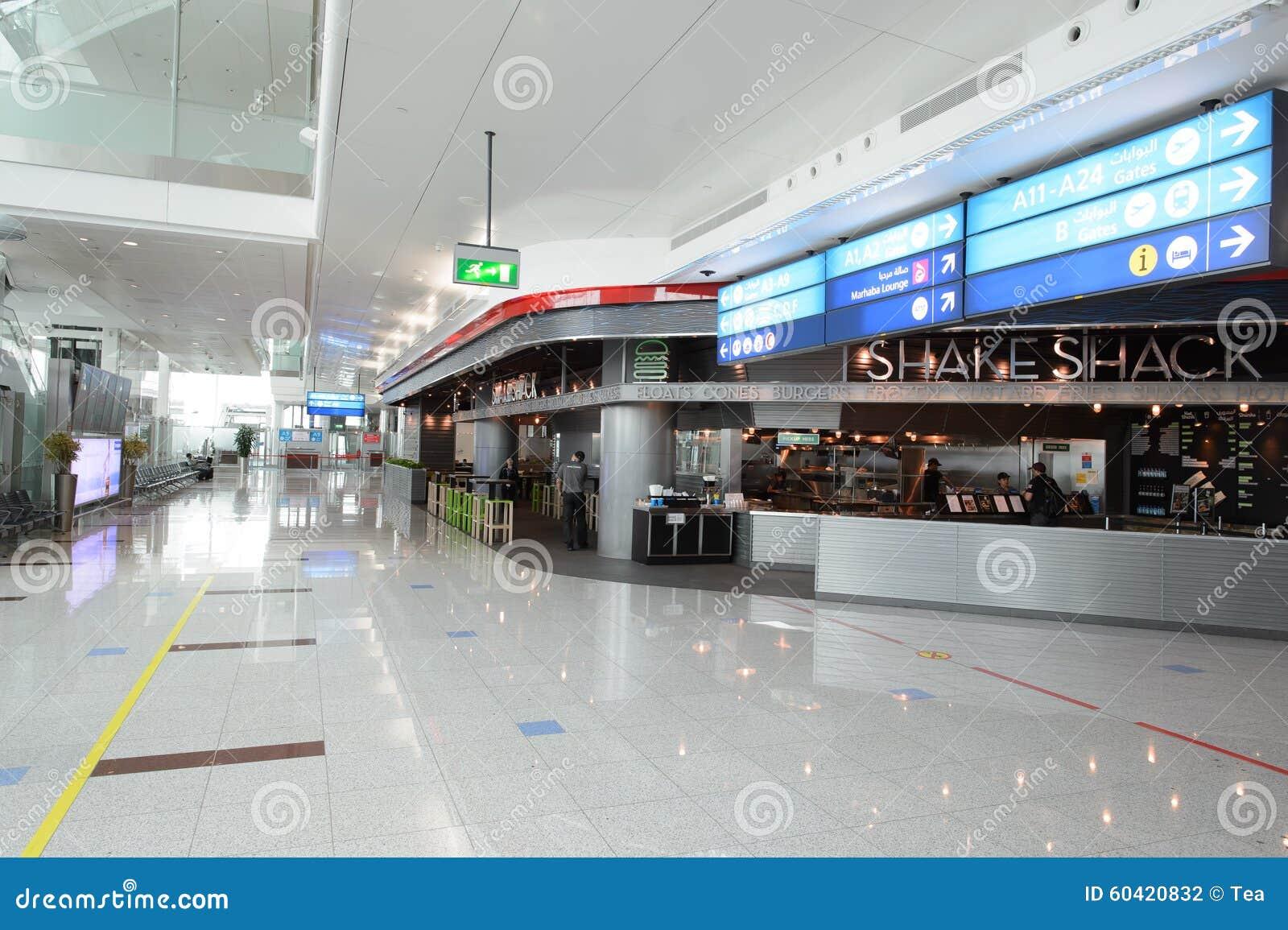 迪拜国际机场内部