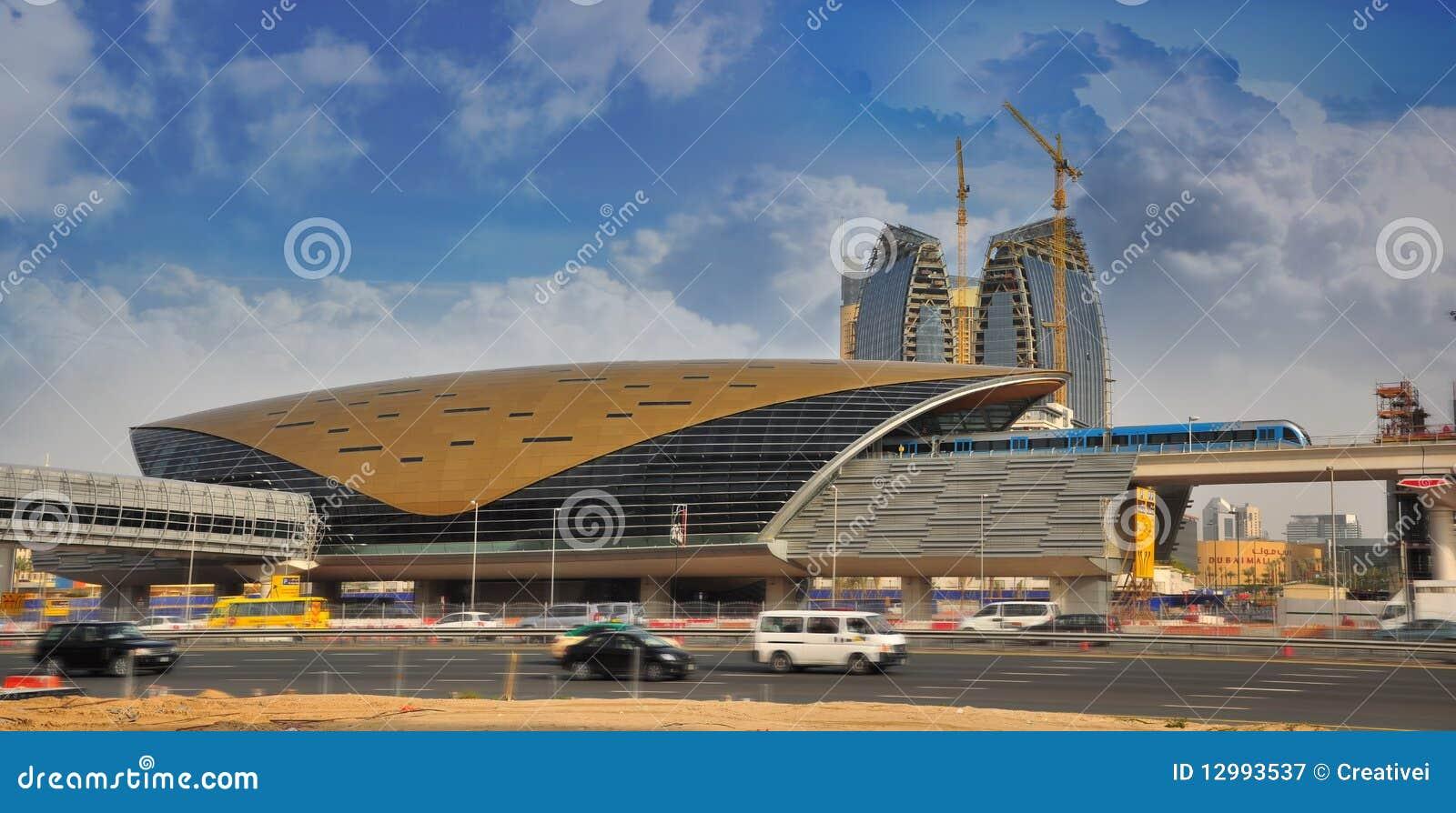 迪拜地铁车站培训