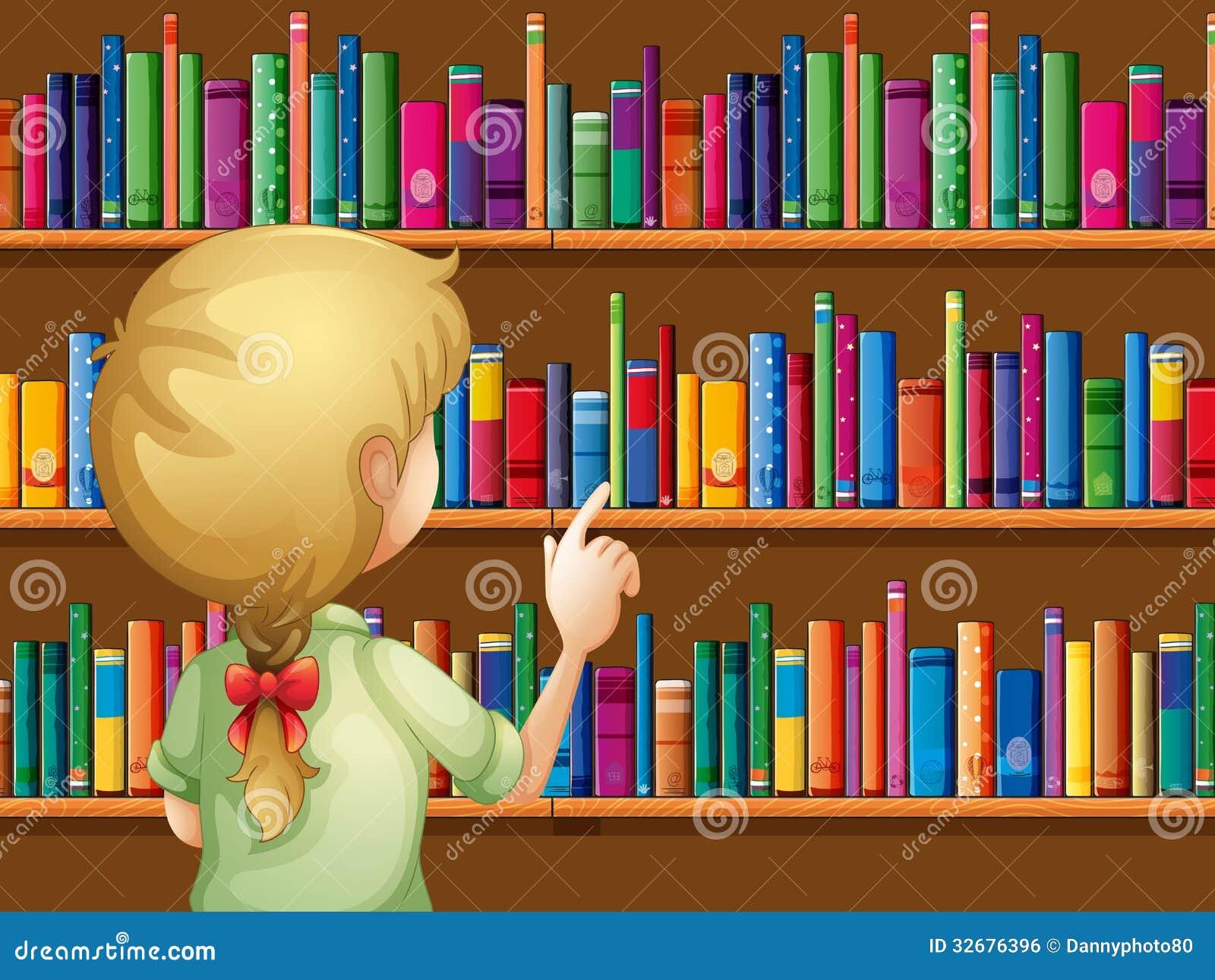 选择书的女孩