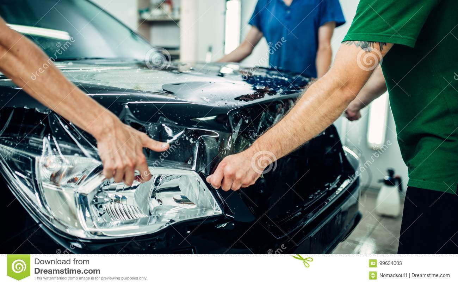 透明影片,汽车油漆保护