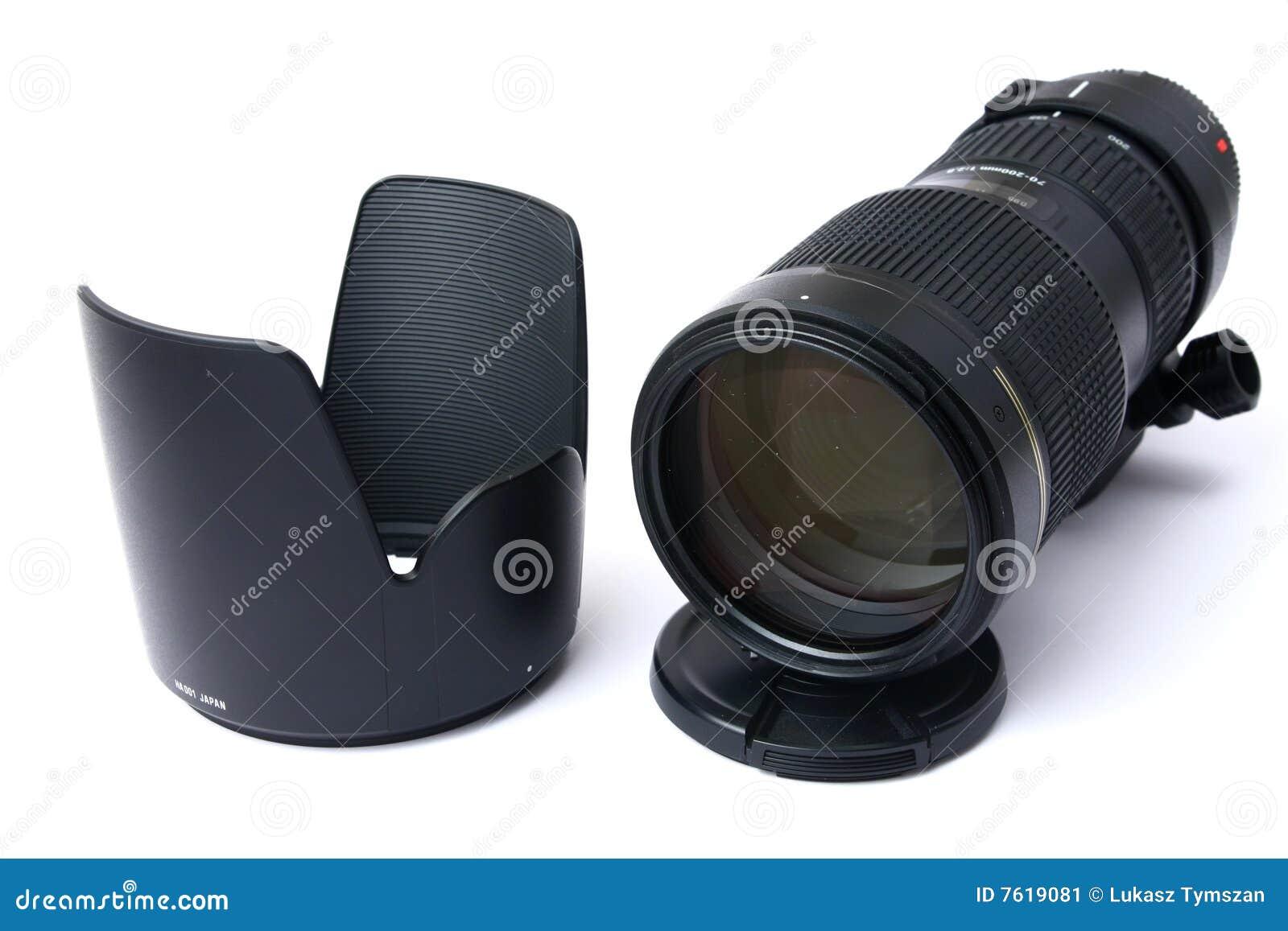 透镜专业缩放