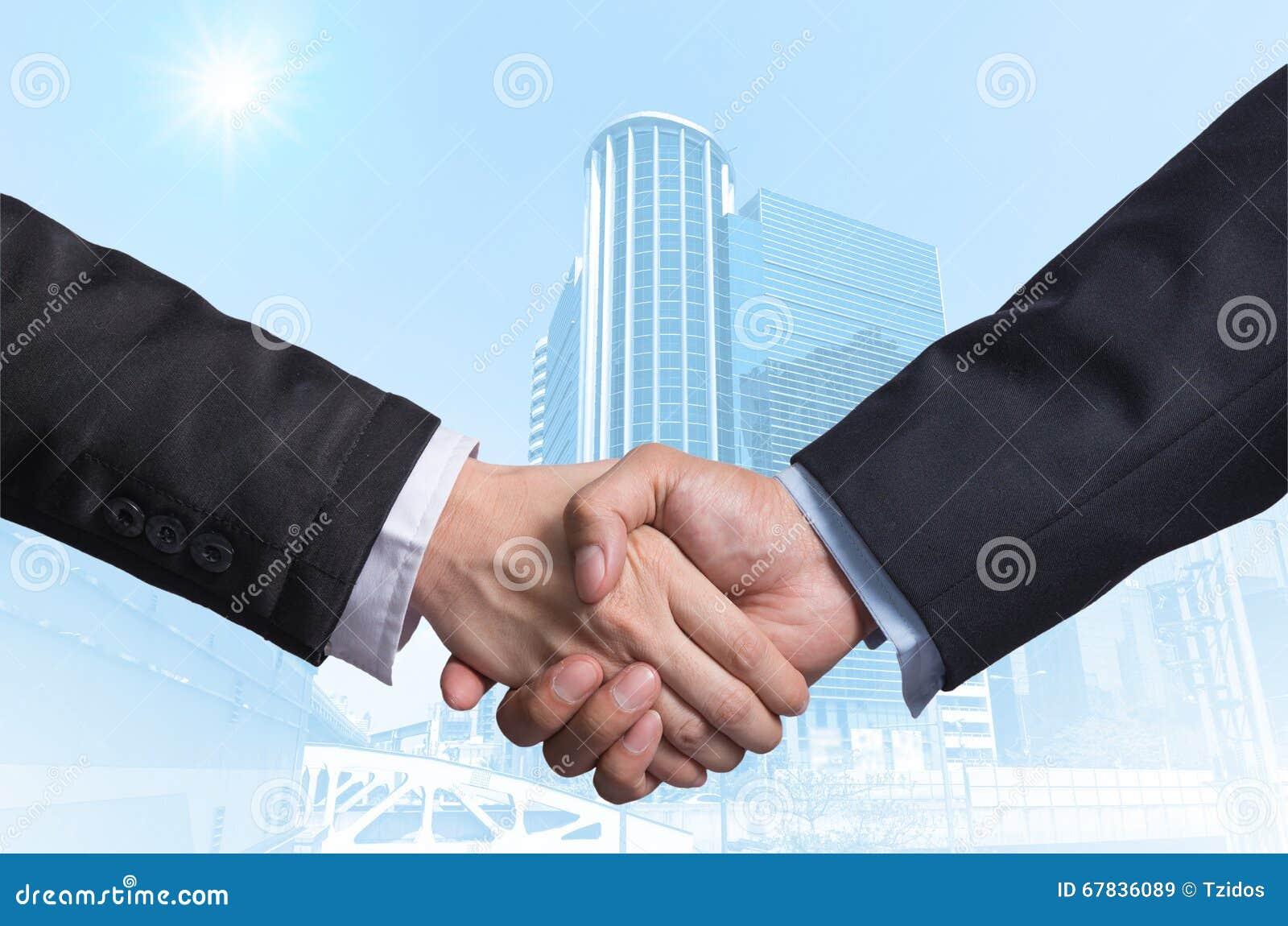 递在一个商人之间的震动在现代企业大厦gla