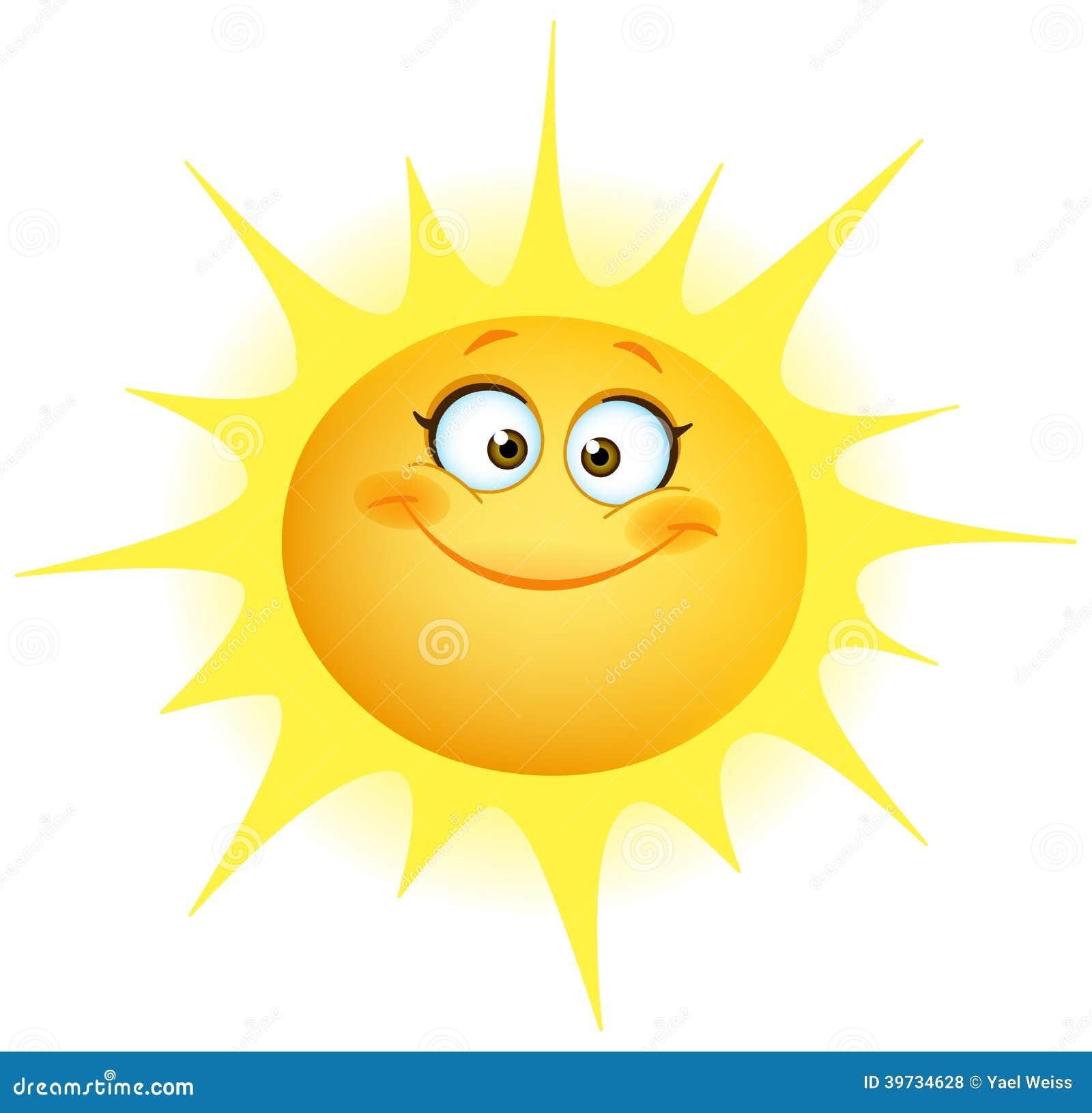 逗人喜爱的太阳