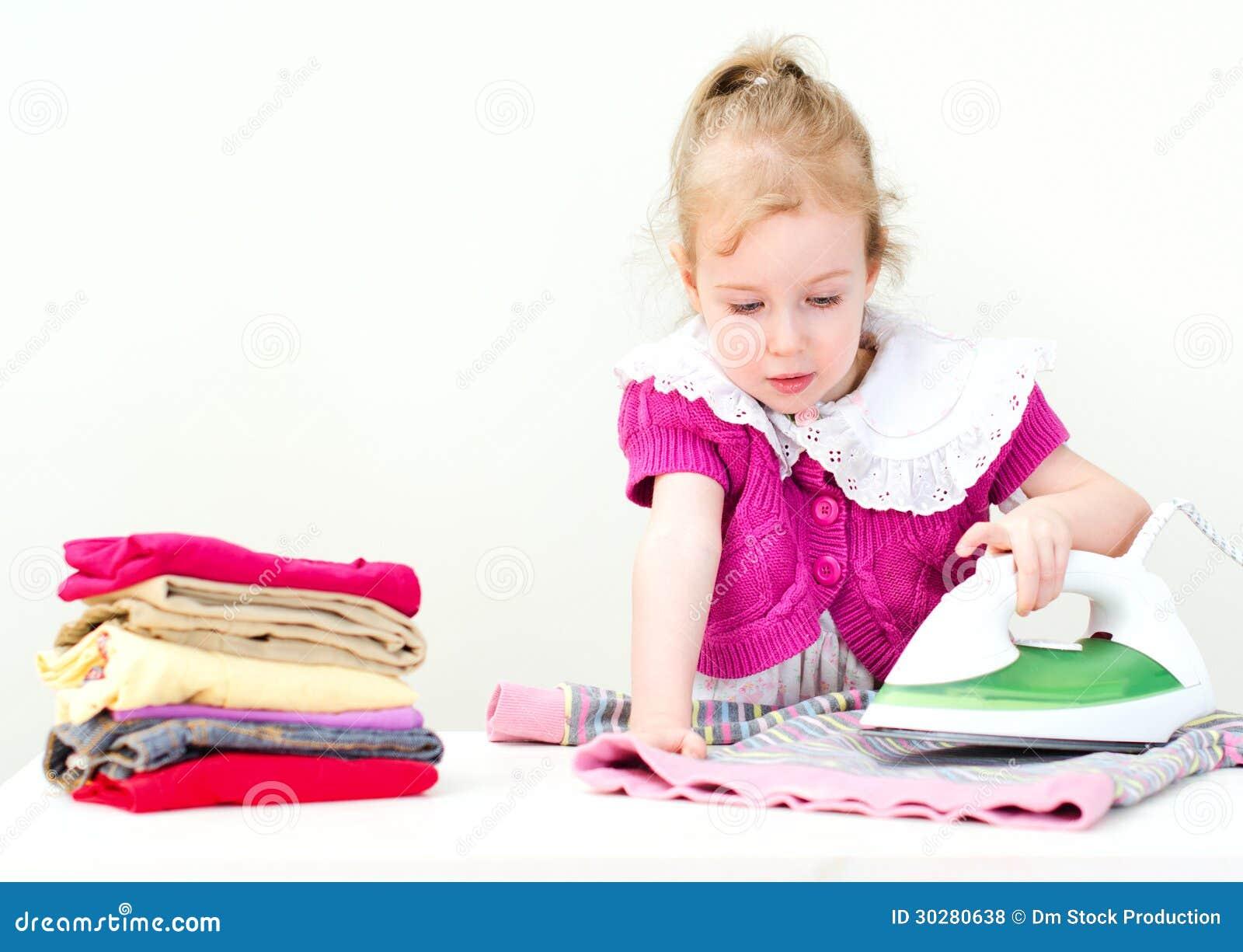 儿童电烙的衣裳