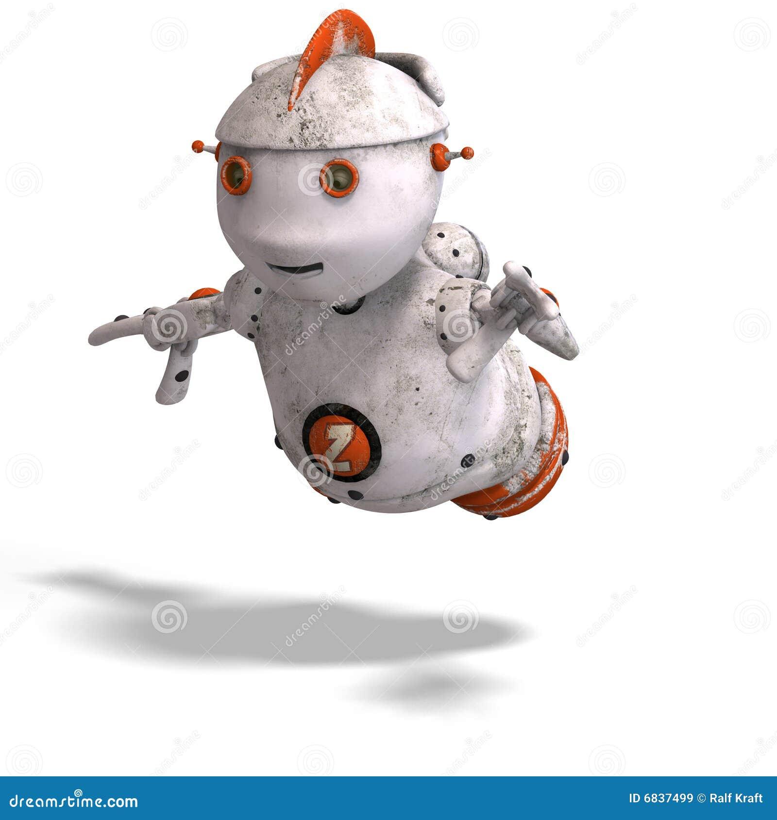 逗人喜爱的情感批次roboter