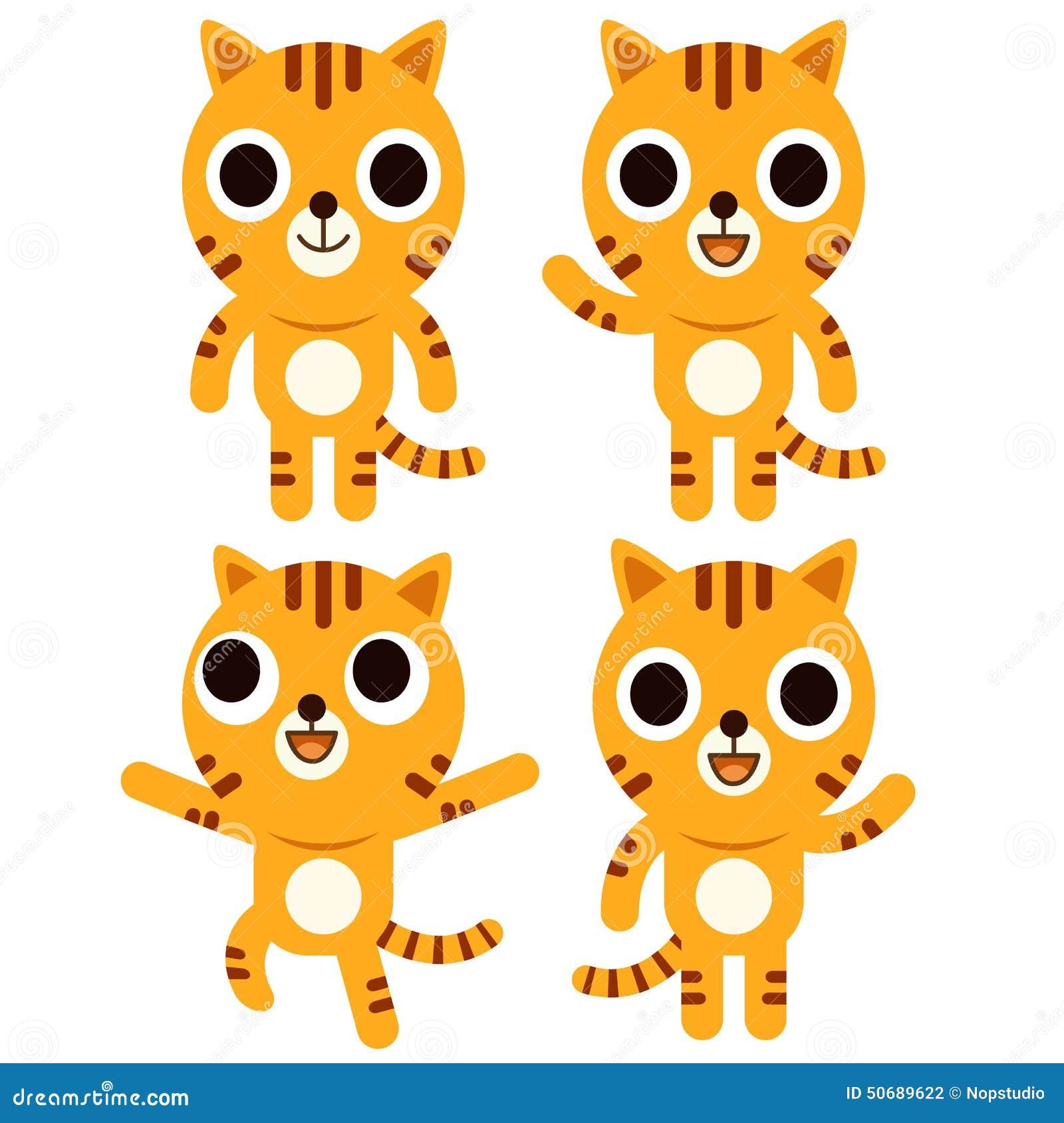 Download 逗人喜爱的老虎 向量例证. 插画 包括有 开会, 动画片, 唯一, 喜悦, 艺术, 微笑, 摆在, 逗人喜爱 - 50689622