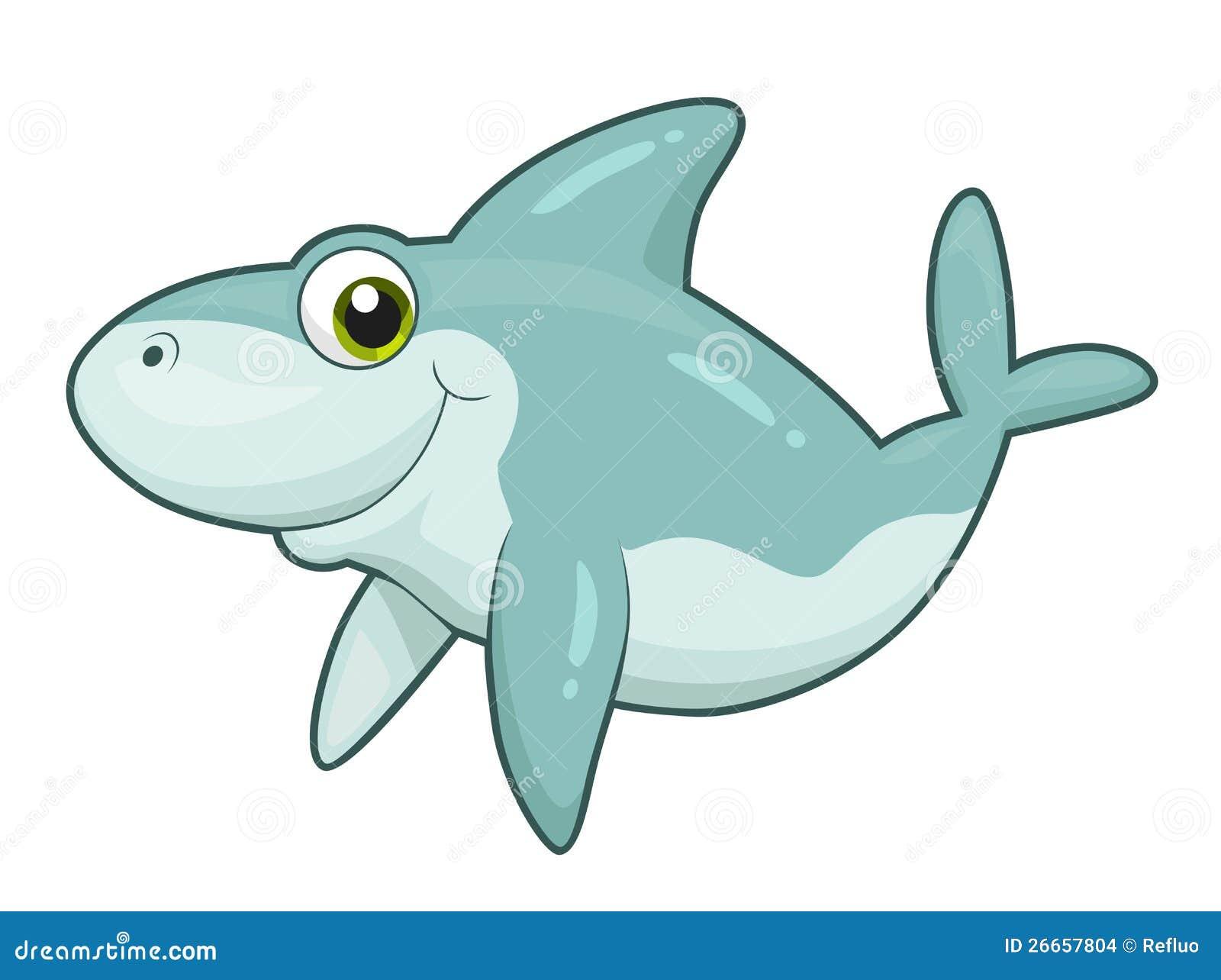 逗人喜爱的鲨鱼