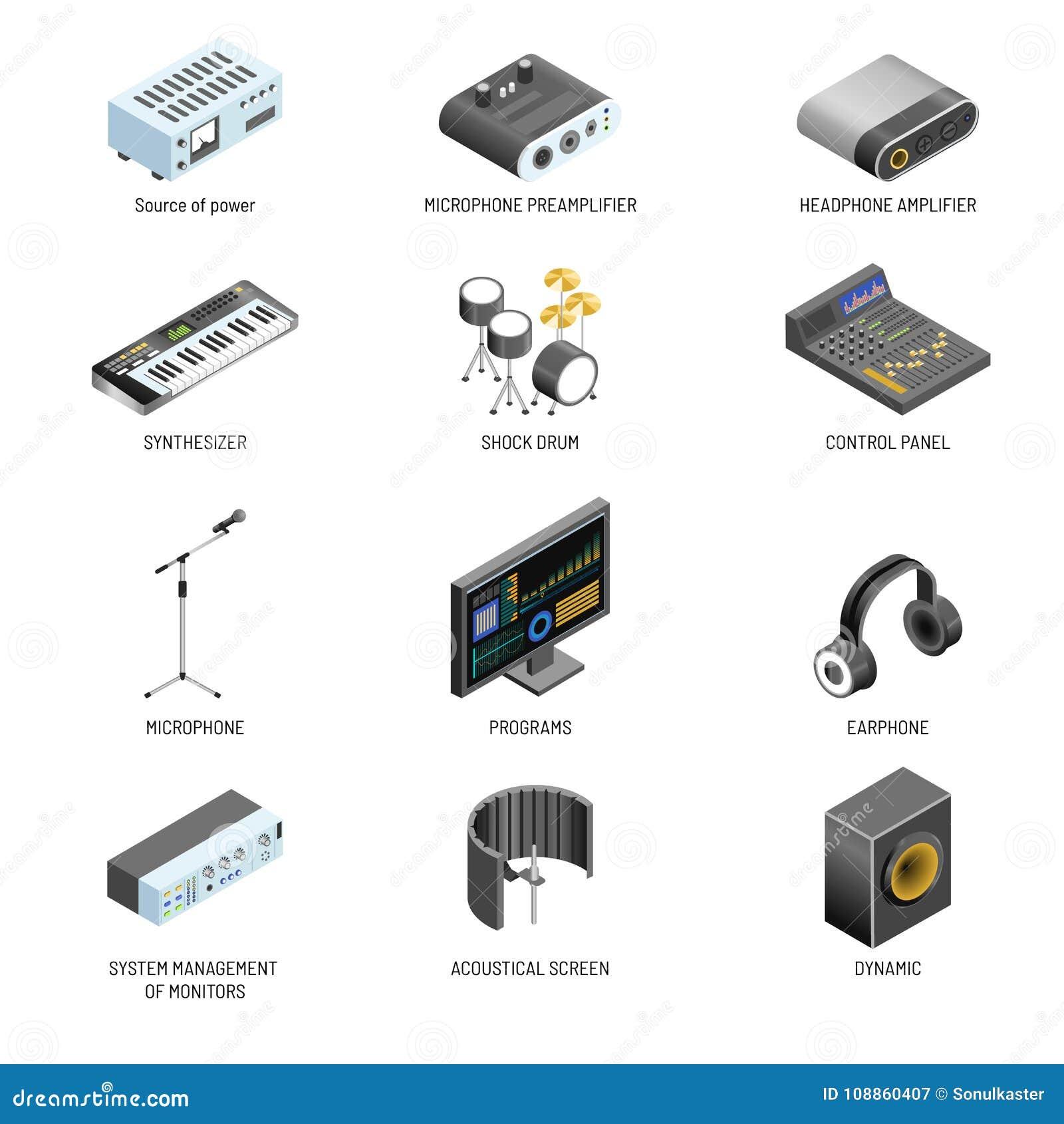 通信设备和连接适配器或者声音和录影系统控制器传染媒介隔绝了象