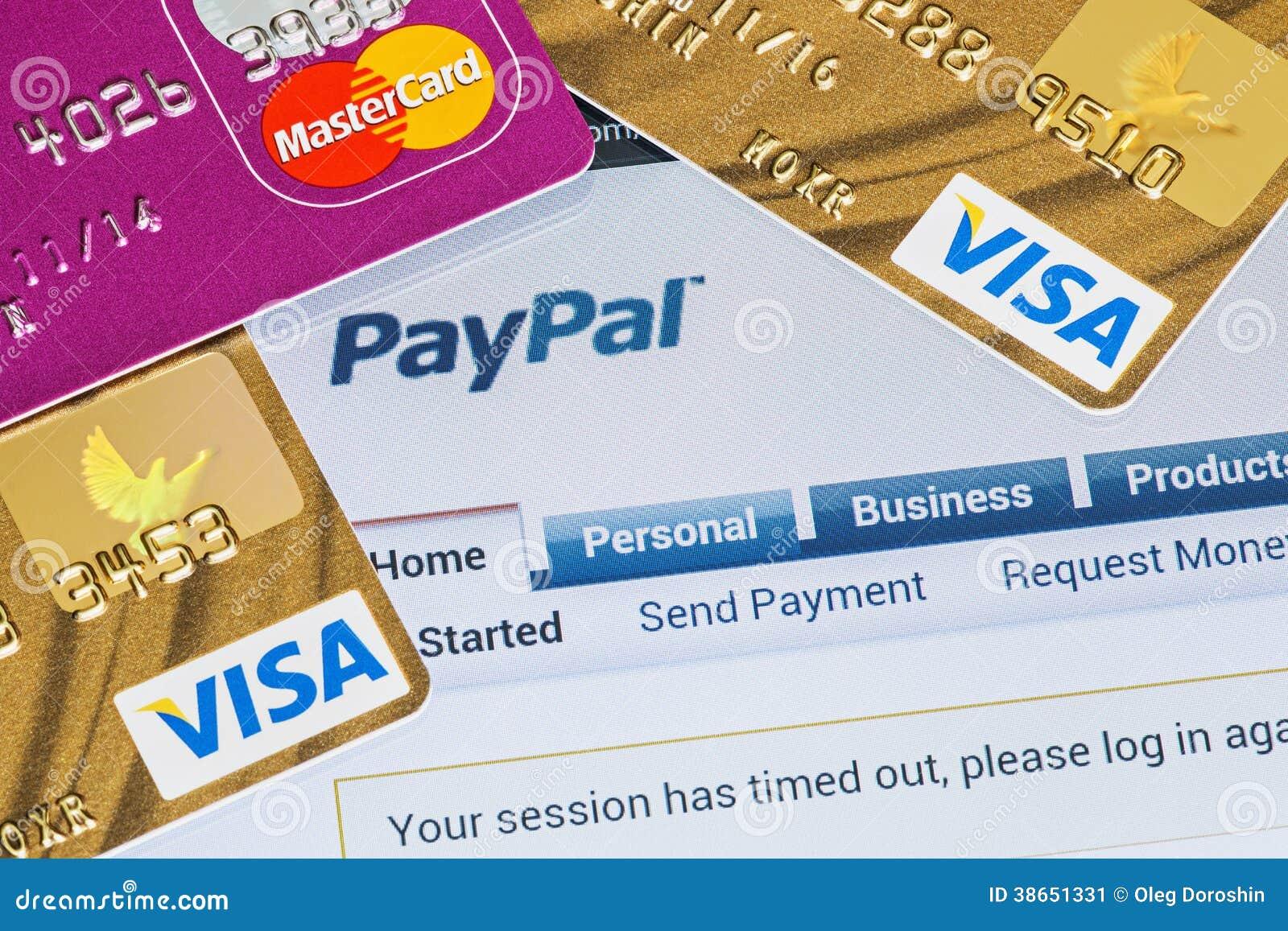 通过Paypal付款被支付的网上购物