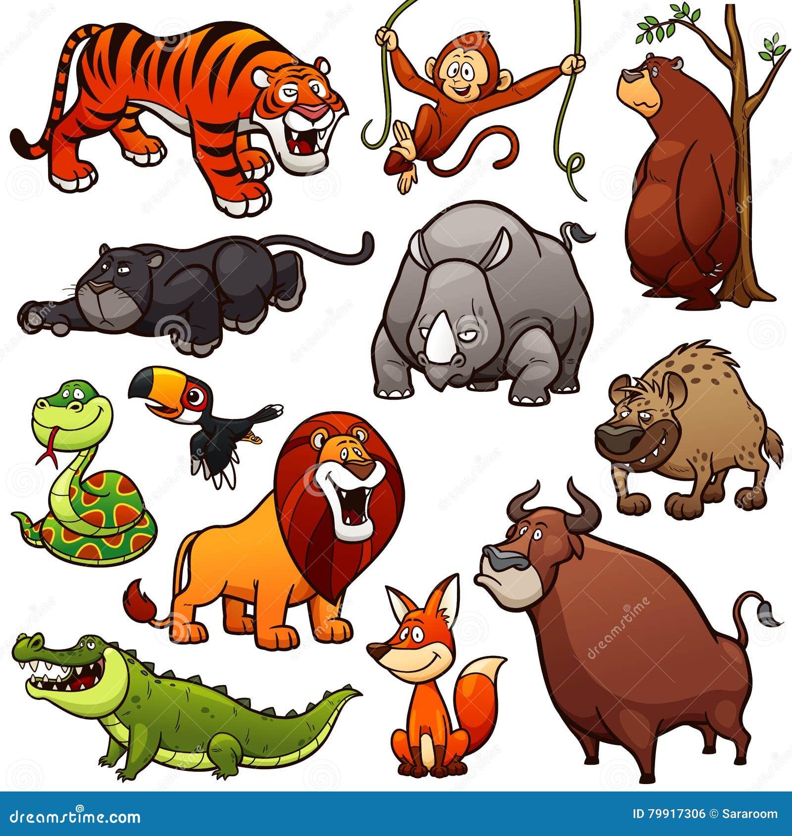 通配的动物