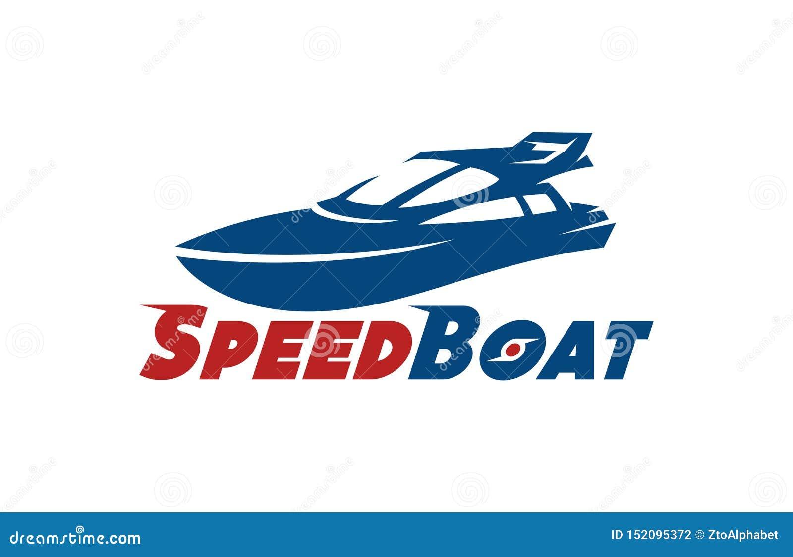 速度小船商标设计