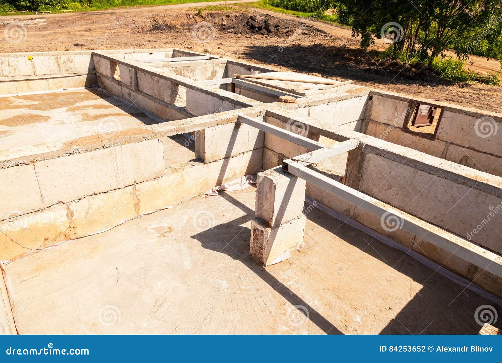 建造场所和房子基础看法