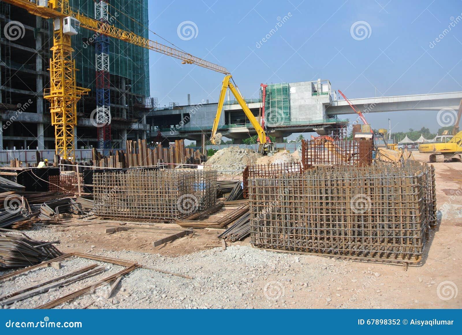建造场所过程中在马来西亚