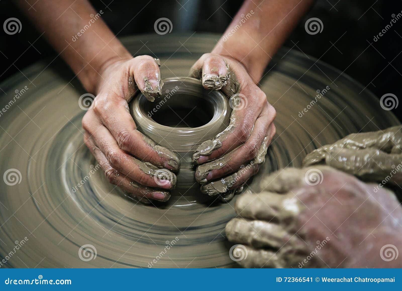 造型黏土花瓶